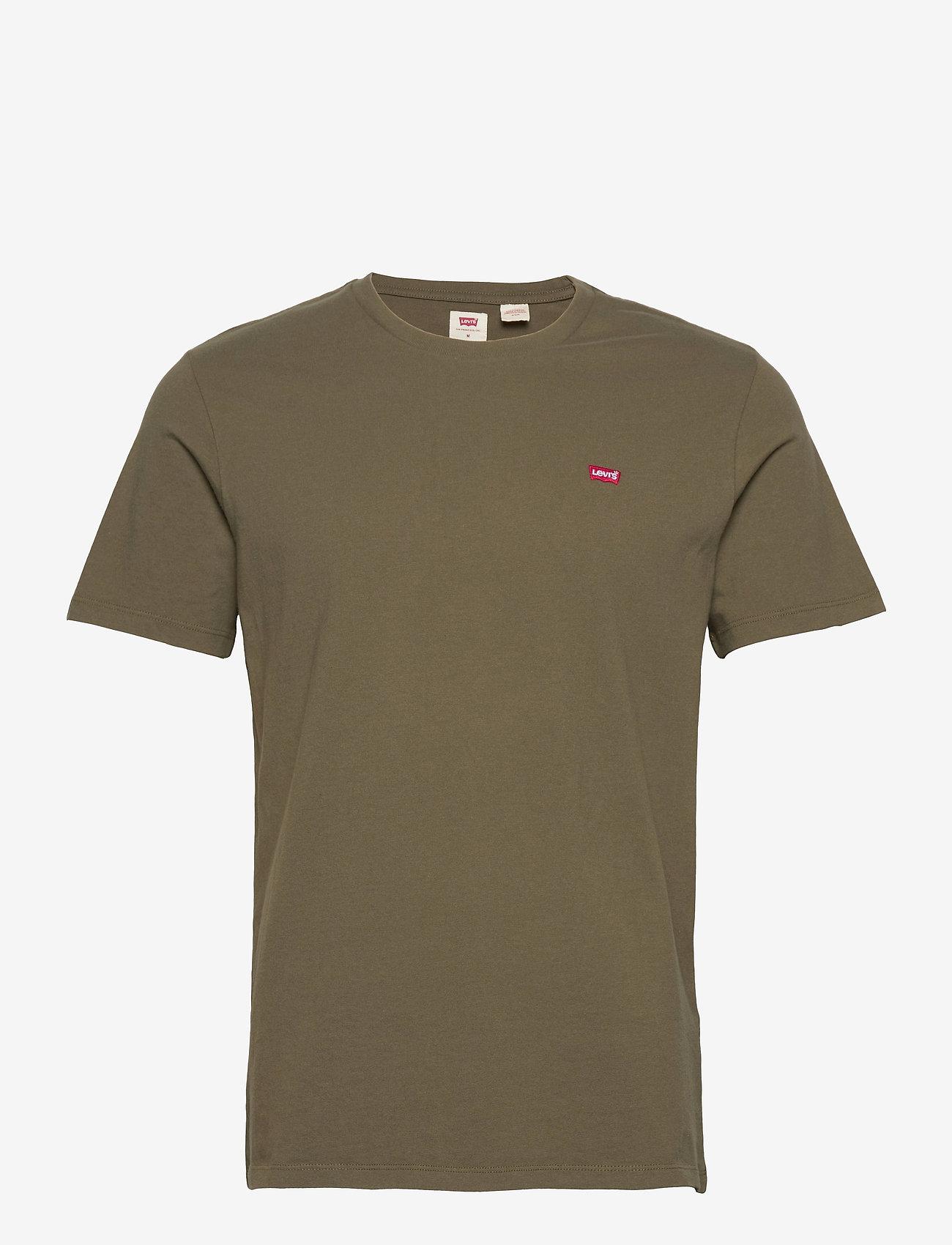 LEVI´S Men - SS ORIGINAL HM TEE OLIVE NIGHT - basic t-shirts - greens - 0