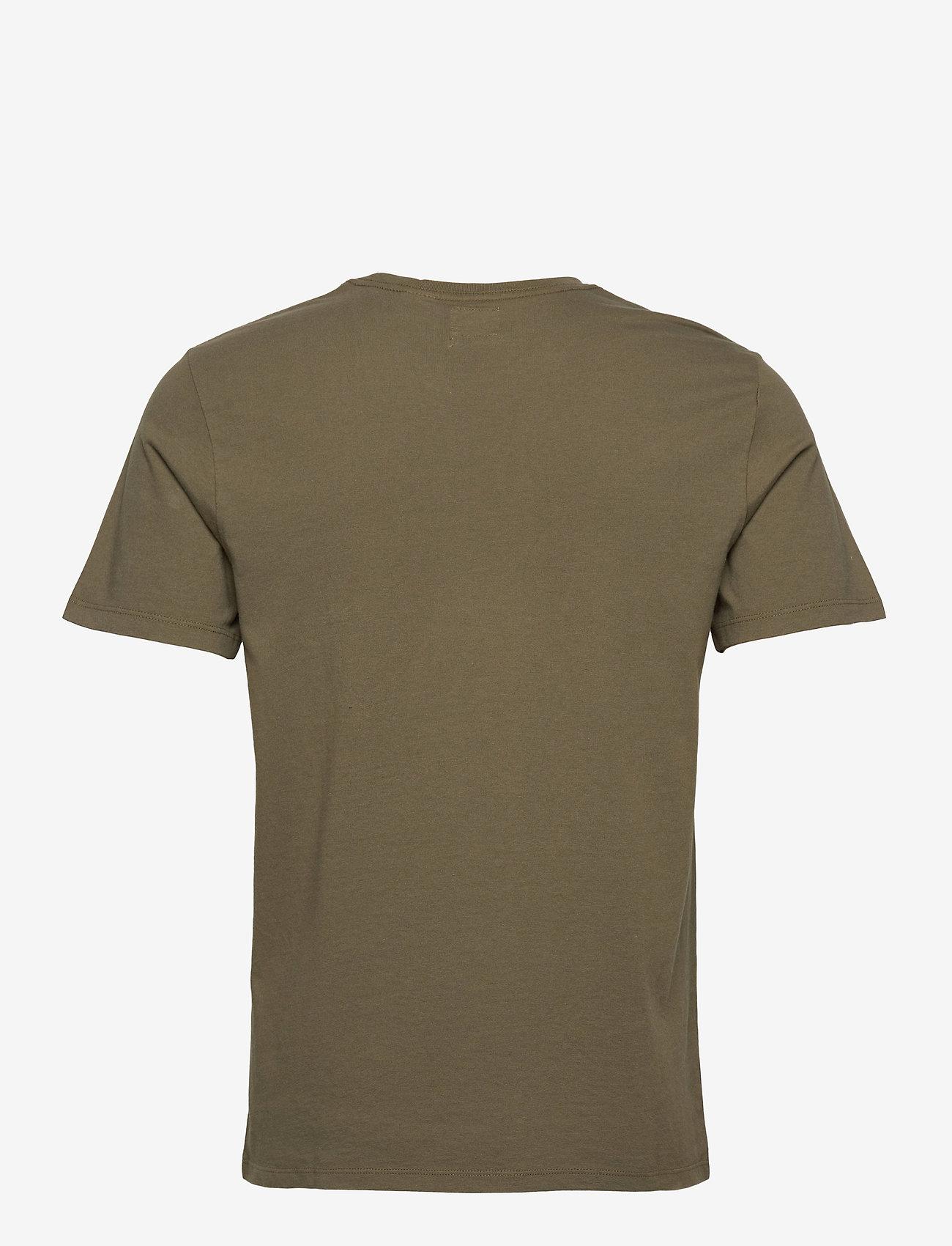 LEVI´S Men - SS ORIGINAL HM TEE OLIVE NIGHT - t-shirts - greens - 1