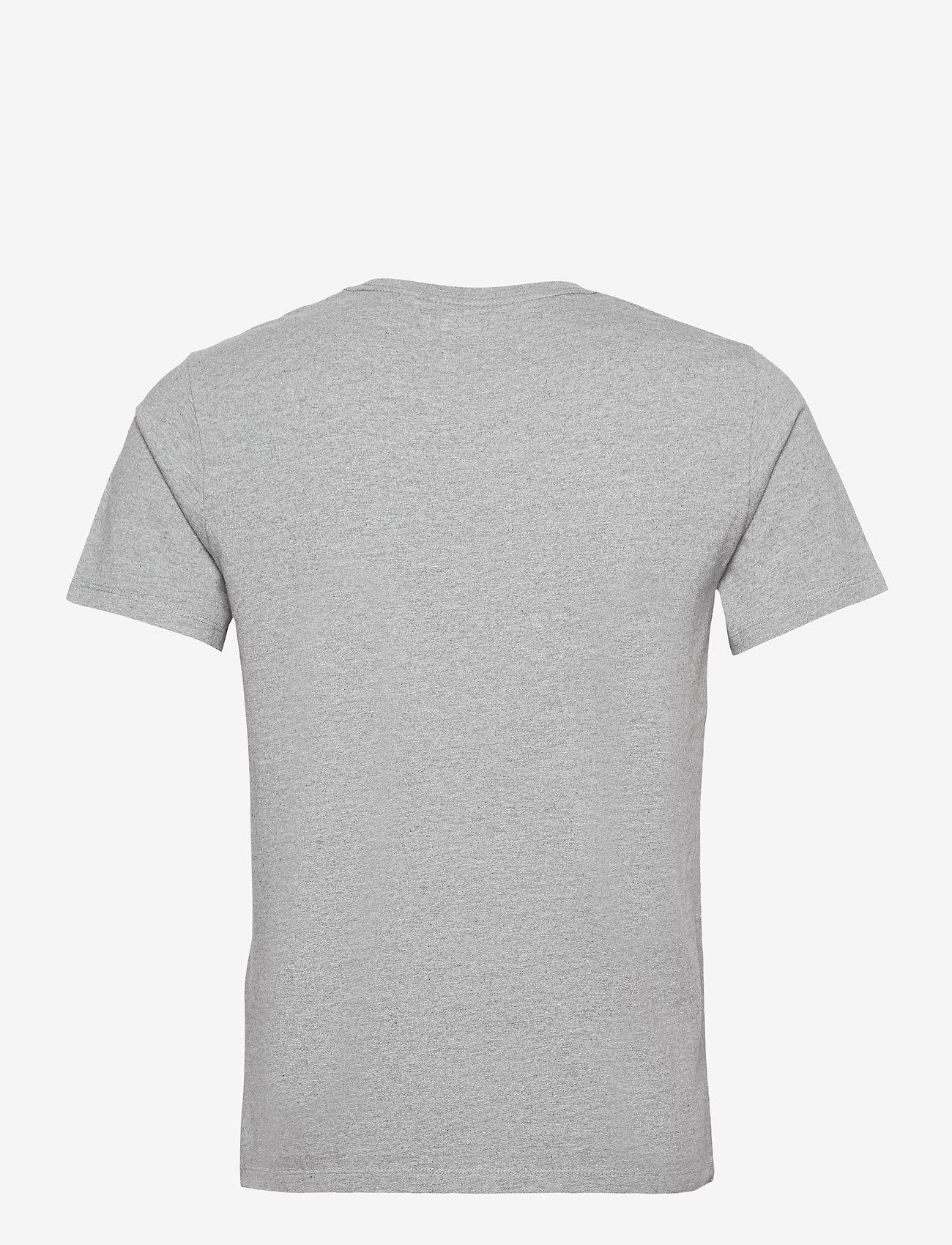LEVI´S Men - SS ORIGINAL HM TEE CHISEL GREY - podstawowe koszulki - greys - 1