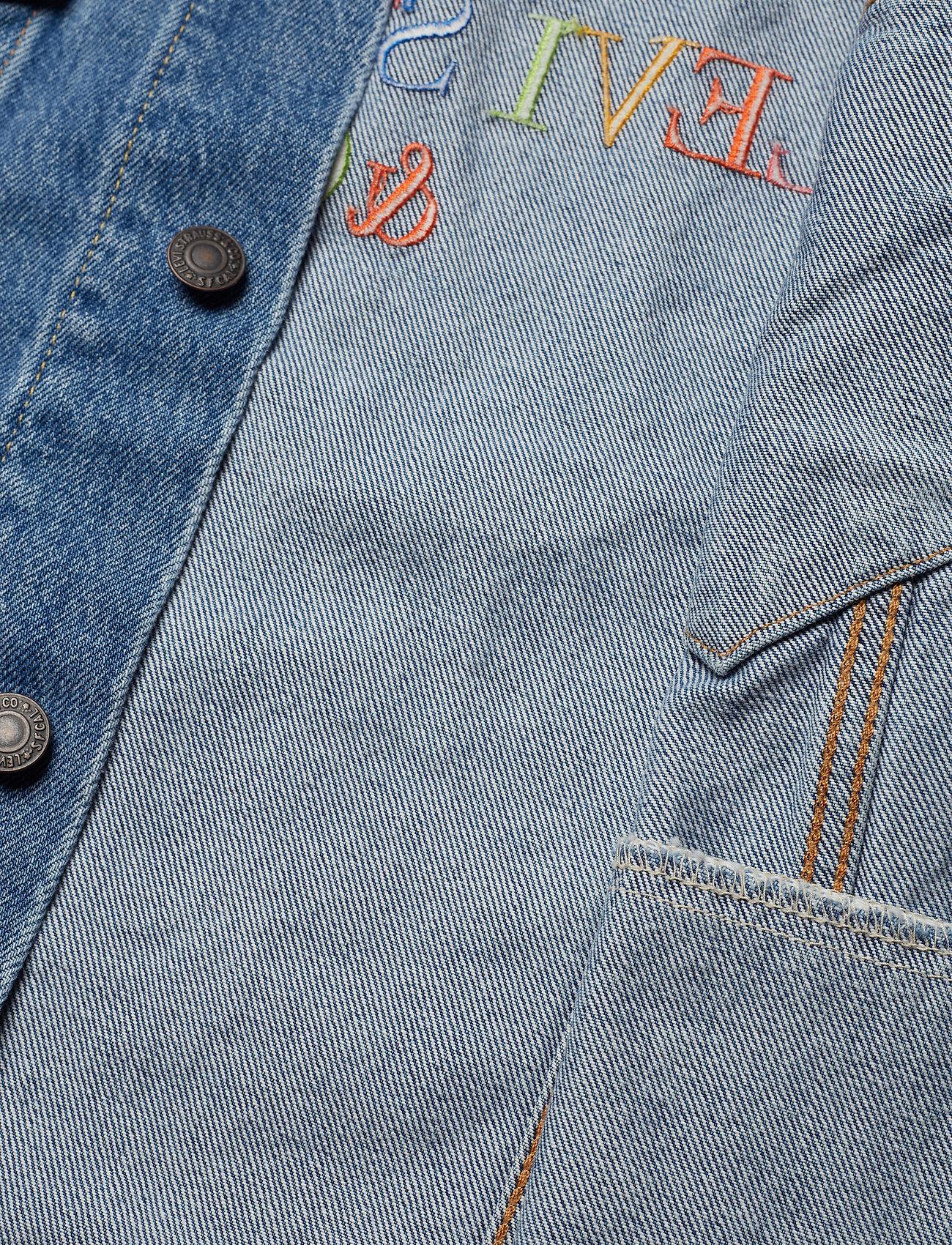 The Trucker Jacket Multicolor (Med Indigo - Worn In) (78 €) - LEVI´S Men 9yClMFKQ
