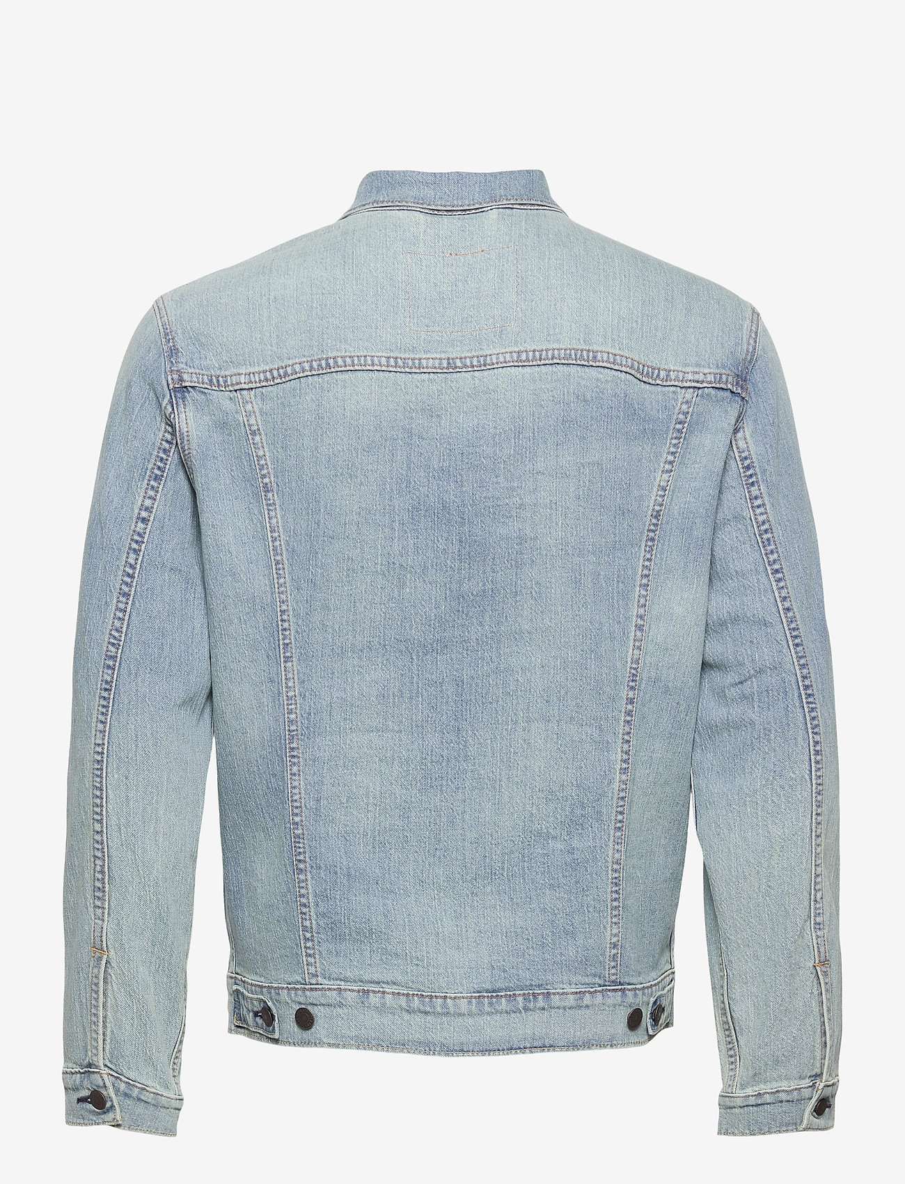 LEVI´S Men - THE TRUCKER JACKET COLDER THAN - vestes en jean - light indigo - worn in - 1