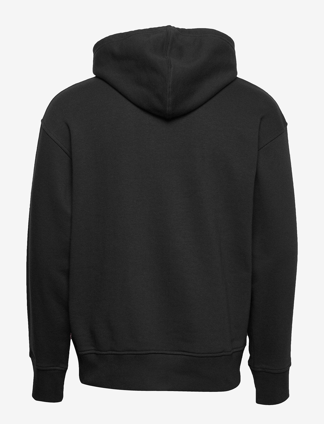 LEVI´S Men - RELAXED GRAPHIC HOODIE BOXTAB - hoodies - blacks - 1