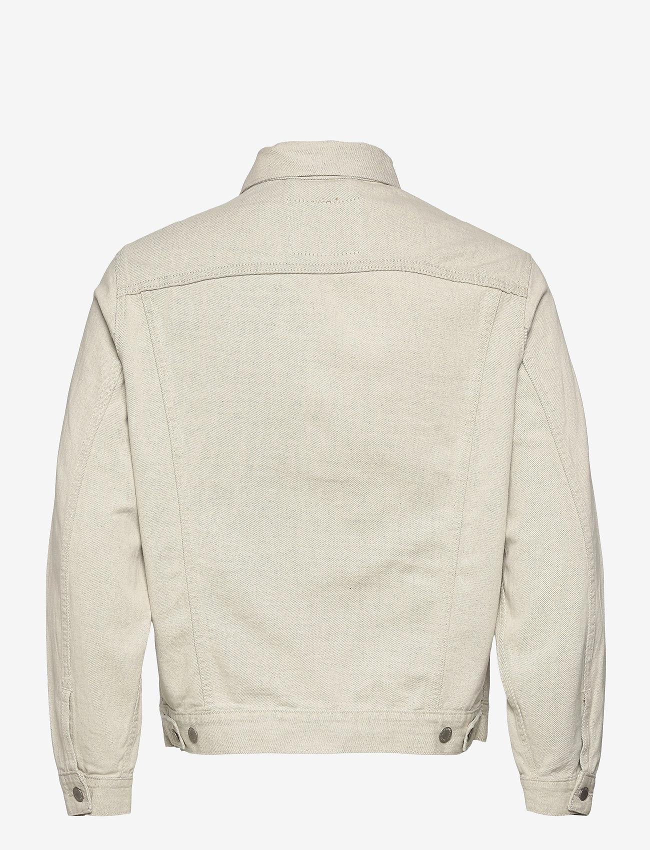 LEVI´S Men - VINTAGE FIT TRUCKER LEFTOVERS - kurtki dżinsowe - greys - 1