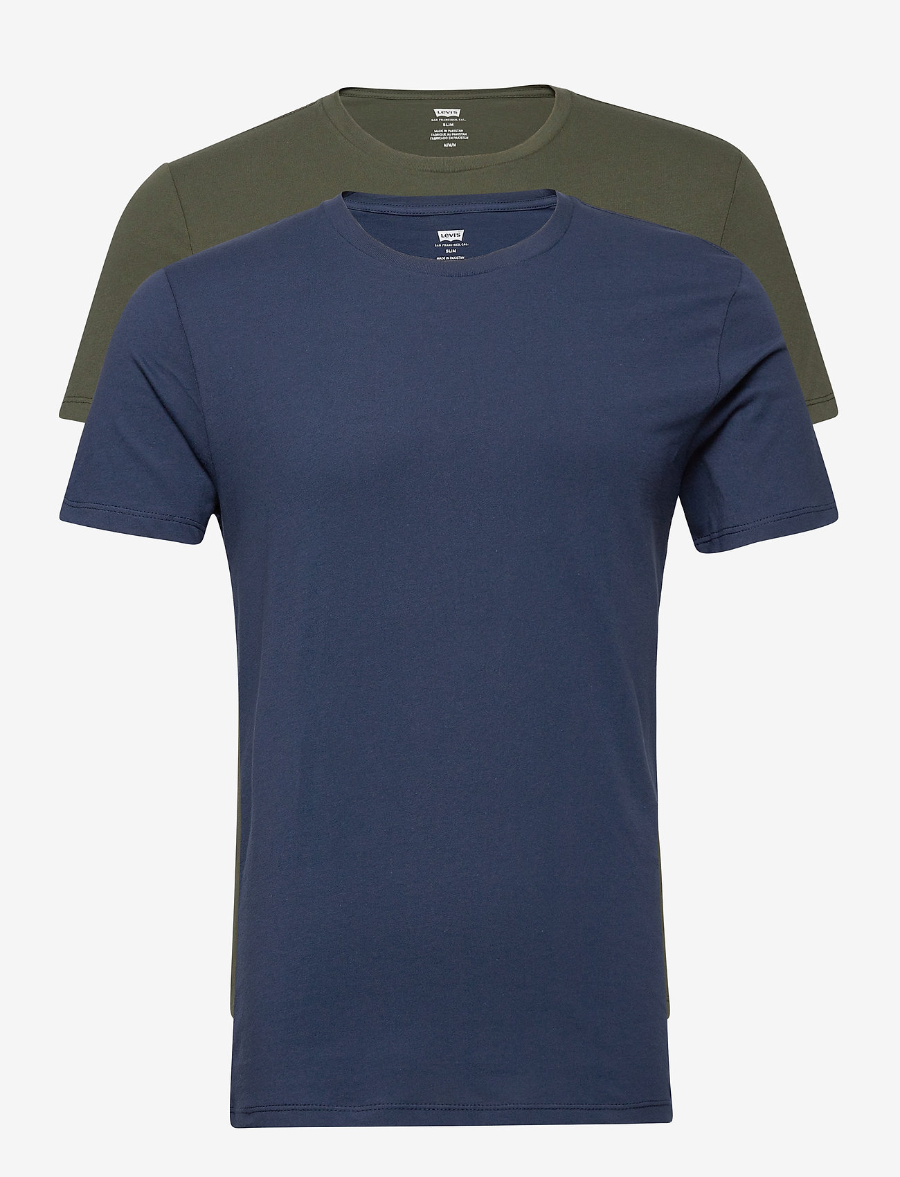 LEVI´S Men - SLIM 2PK CREWNECK 1 2PK SLIM C - t-shirts - multi-color - 0