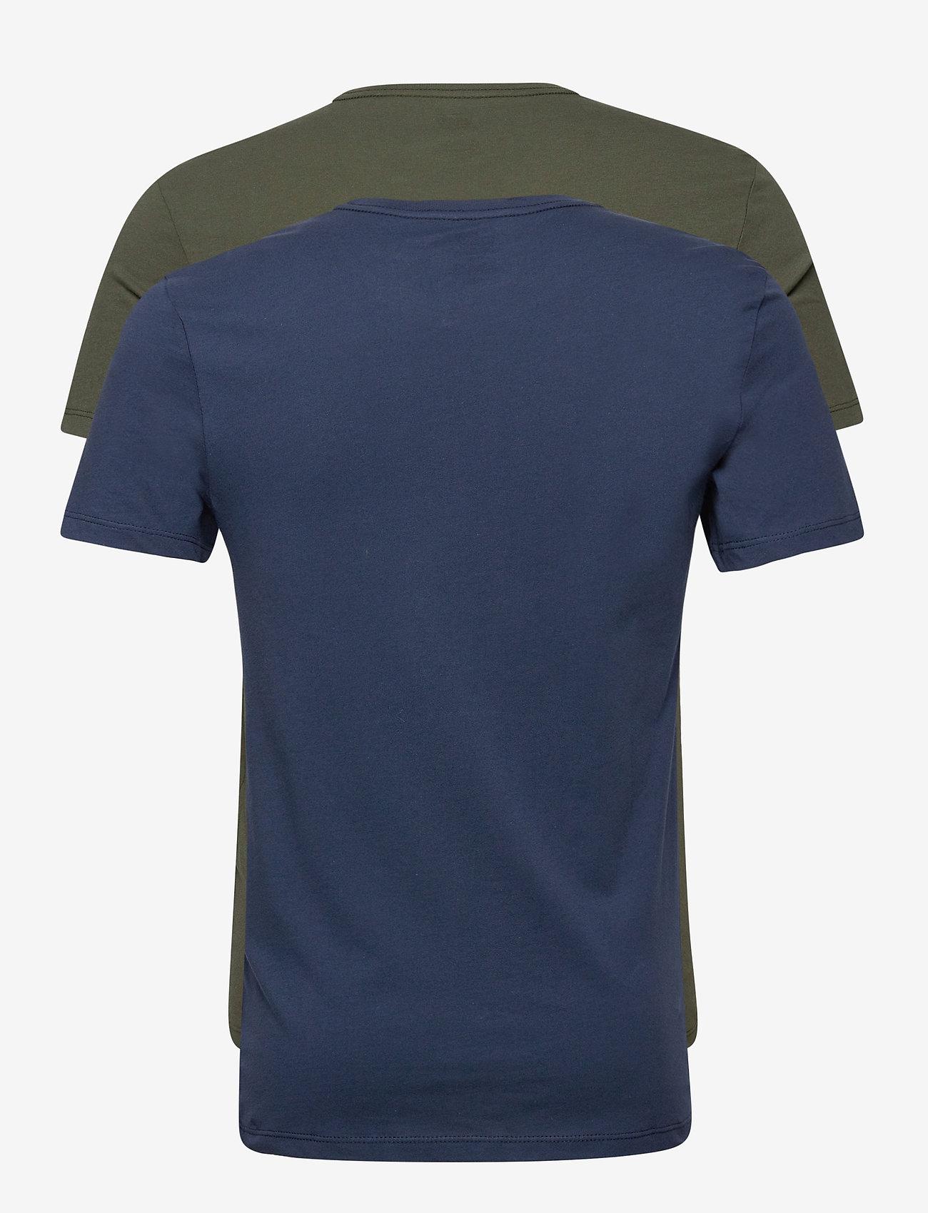 LEVI´S Men - SLIM 2PK CREWNECK 1 2PK SLIM C - t-shirts - multi-color - 1