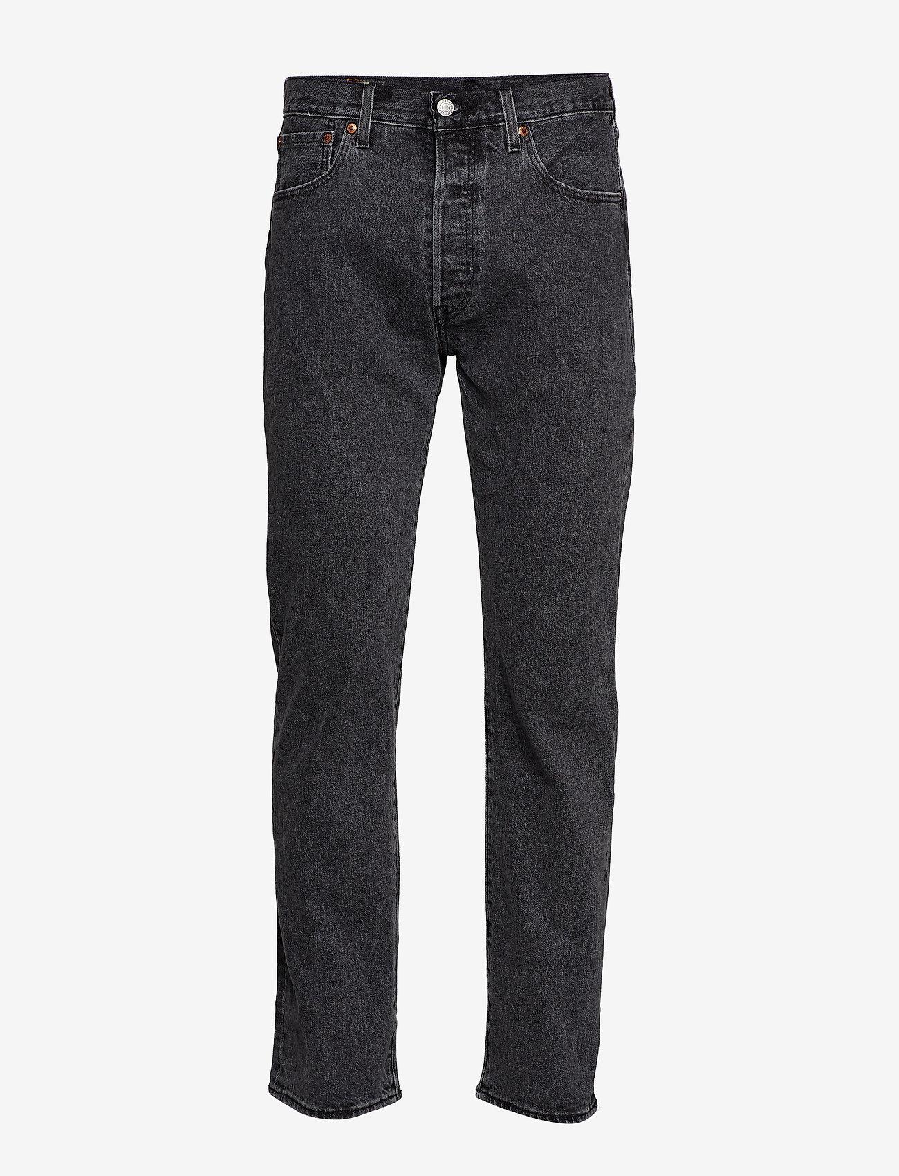 LEVI´S Men - 501 93 STRAIGHT RAISIN STONE - regular jeans - med indigo - worn in - 1