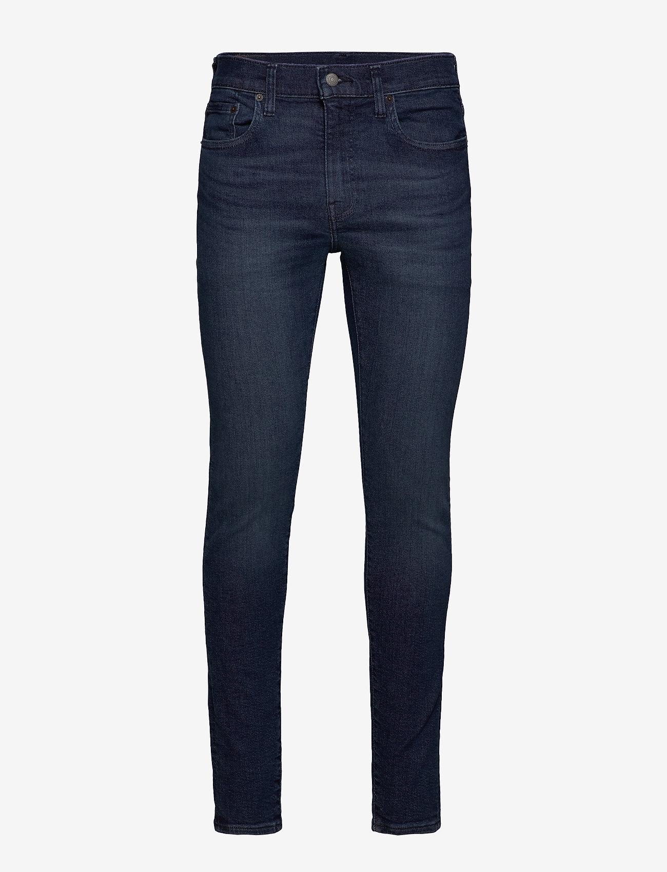LEVI´S Men - SKINNY TAPER SAGE OVERT ADV TN - skinny jeans - dark indigo - worn in - 0