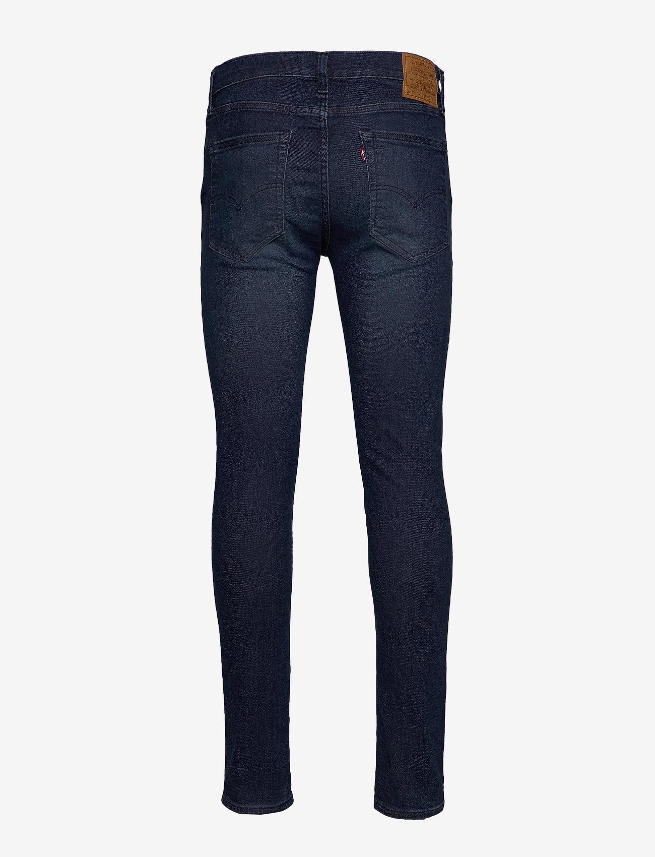 LEVI´S Men - SKINNY TAPER SAGE OVERT ADV TN - skinny jeans - dark indigo - worn in - 1