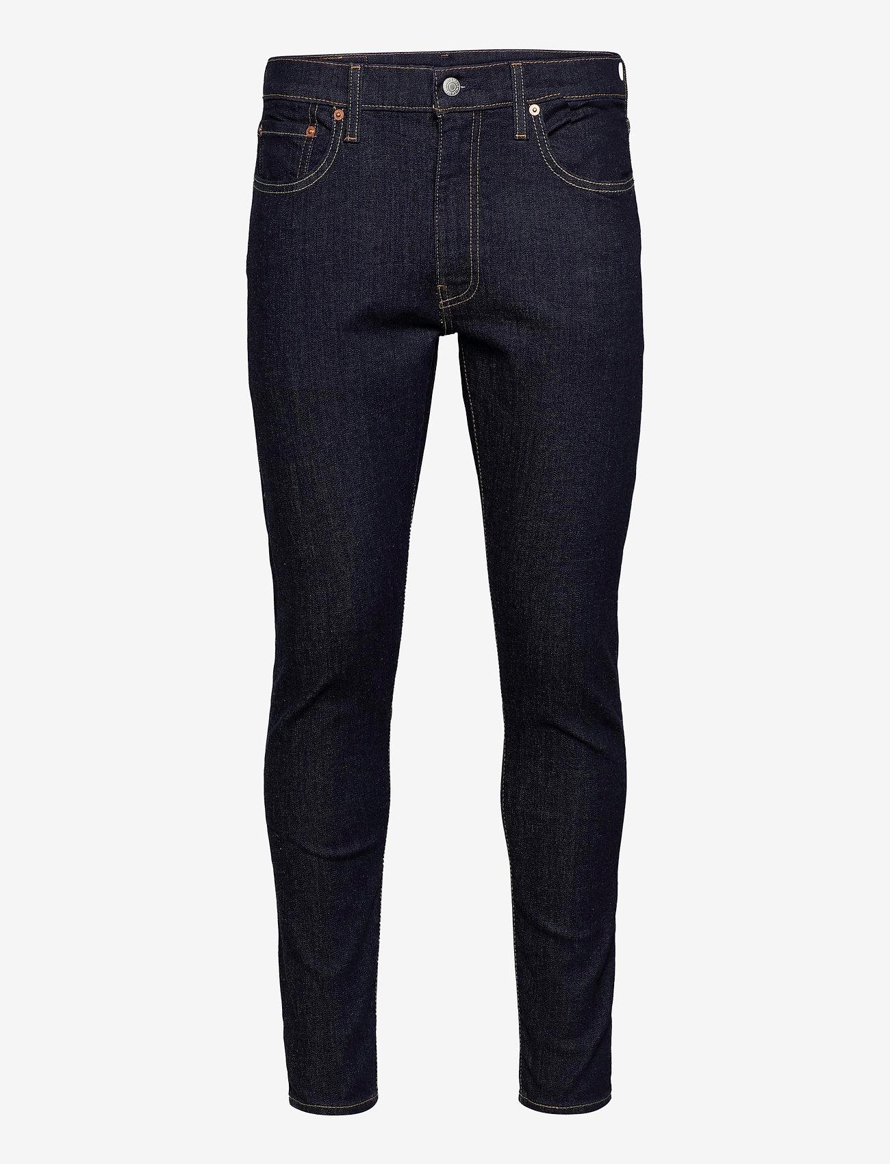 LEVI´S Men - SKINNY TAPER CLEANER ADV - skinny jeans - dark indigo - flat finish - 0