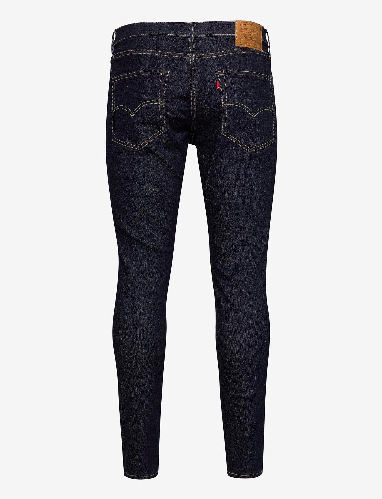 LEVI´S Men - SKINNY TAPER CLEANER ADV - skinny jeans - dark indigo - flat finish - 1