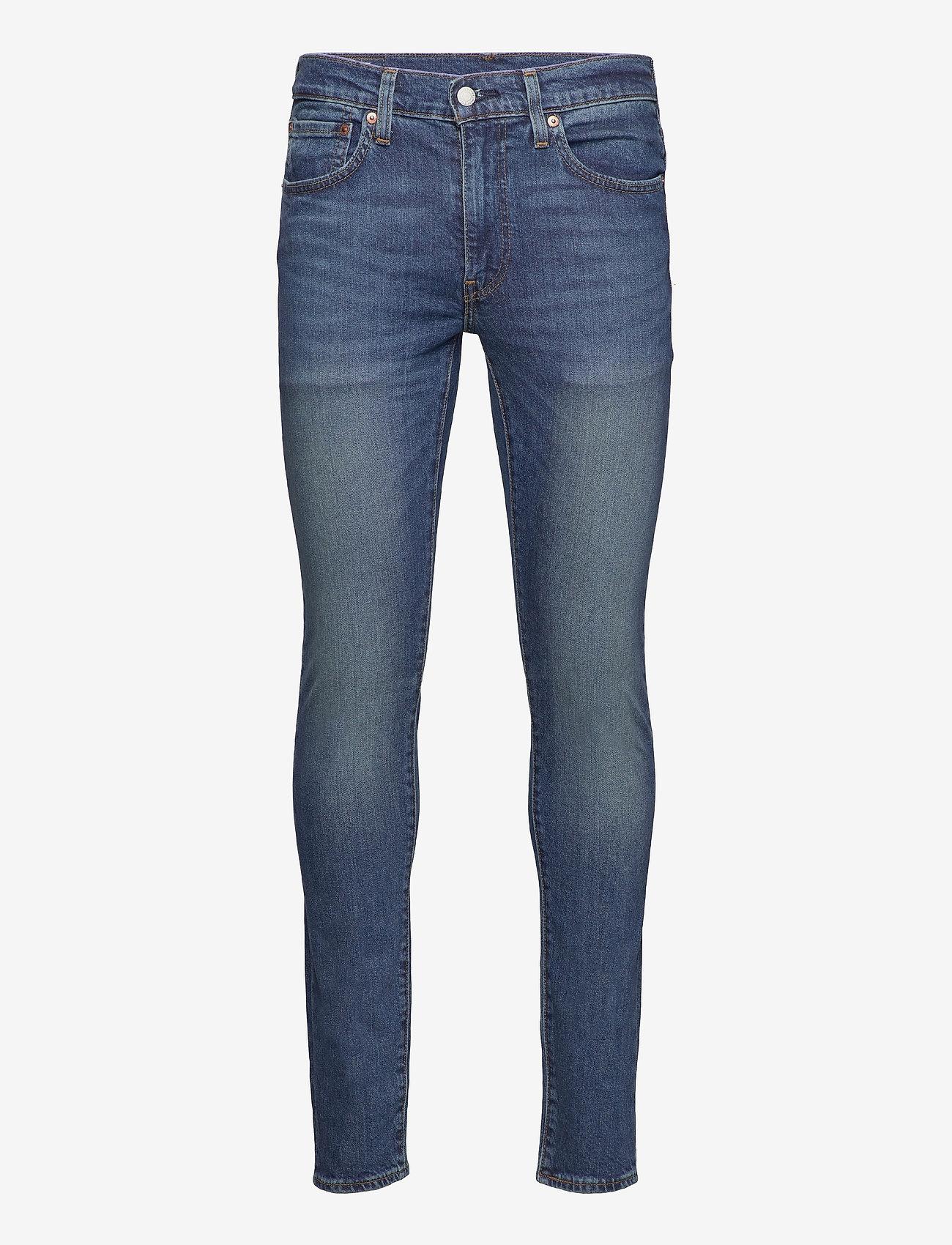 LEVI´S Men - SKINNY TAPER BAND WAGON ADV - skinny jeans - dark indigo - worn in - 0