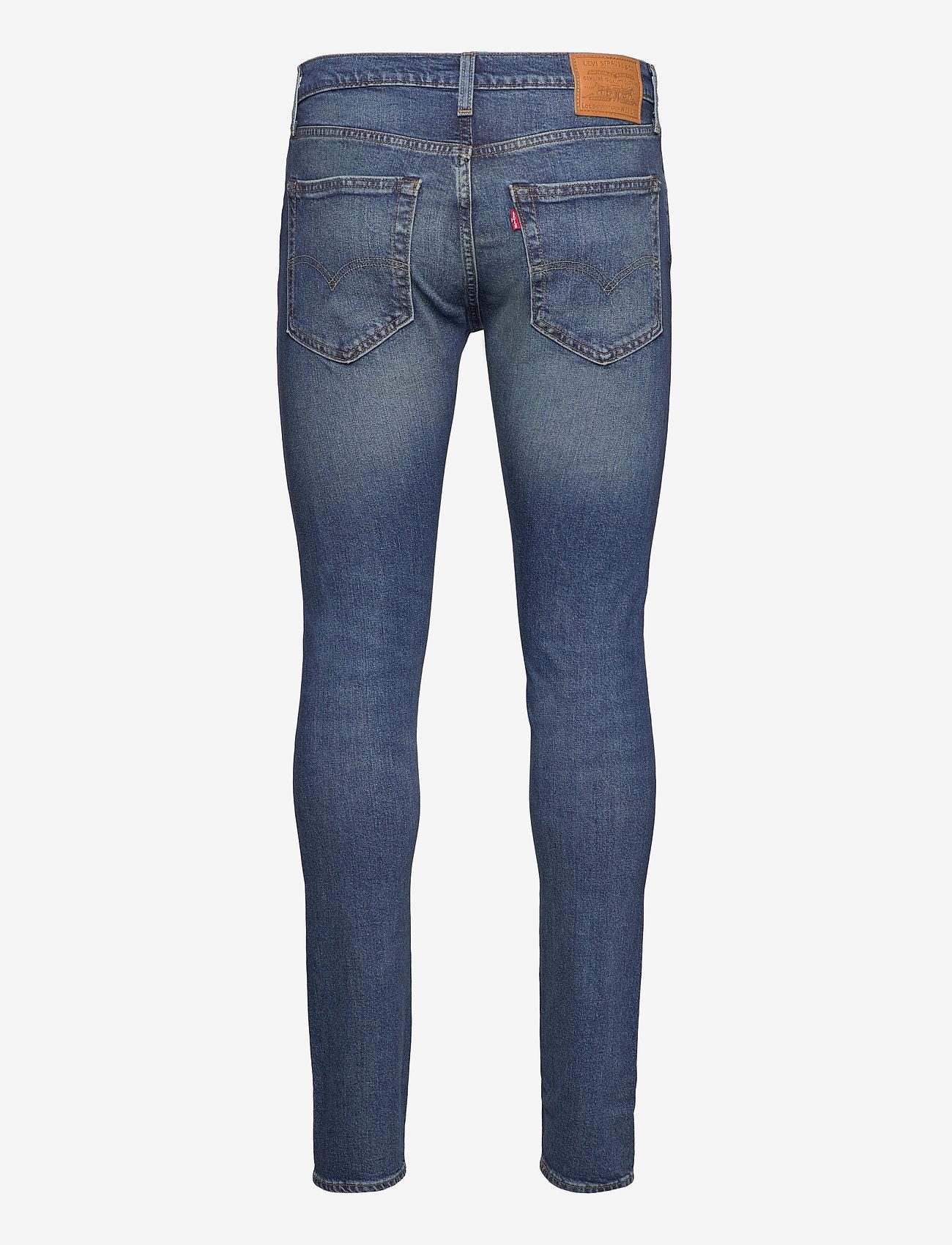LEVI´S Men - SKINNY TAPER BAND WAGON ADV - skinny jeans - dark indigo - worn in - 1