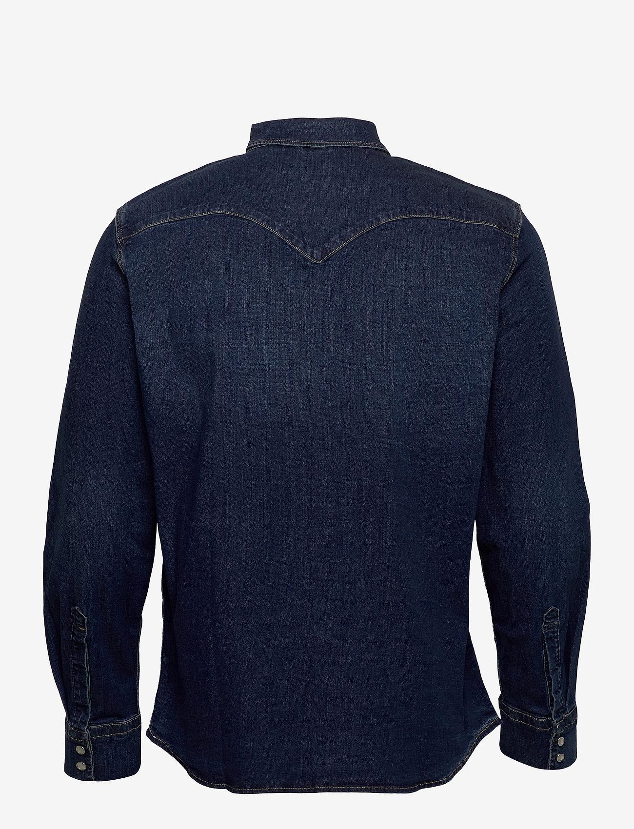 LEVI´S Men - BARSTOW WESTERN STANDARD MODER - koszule w kratkę - blues - 1