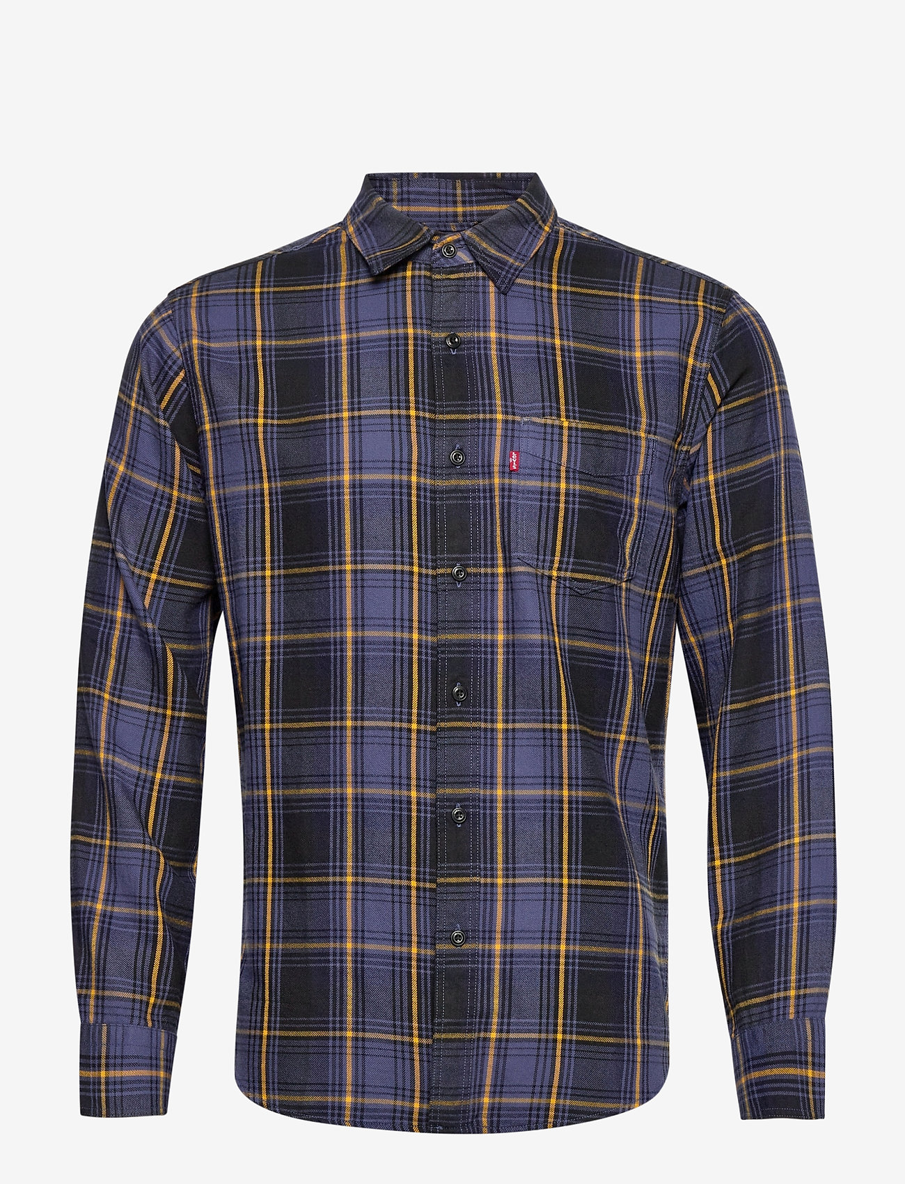 LEVI´S Men - SUNSET 1 POCKET STANDARD AZRIE - checkered shirts - yellows/oranges - 0