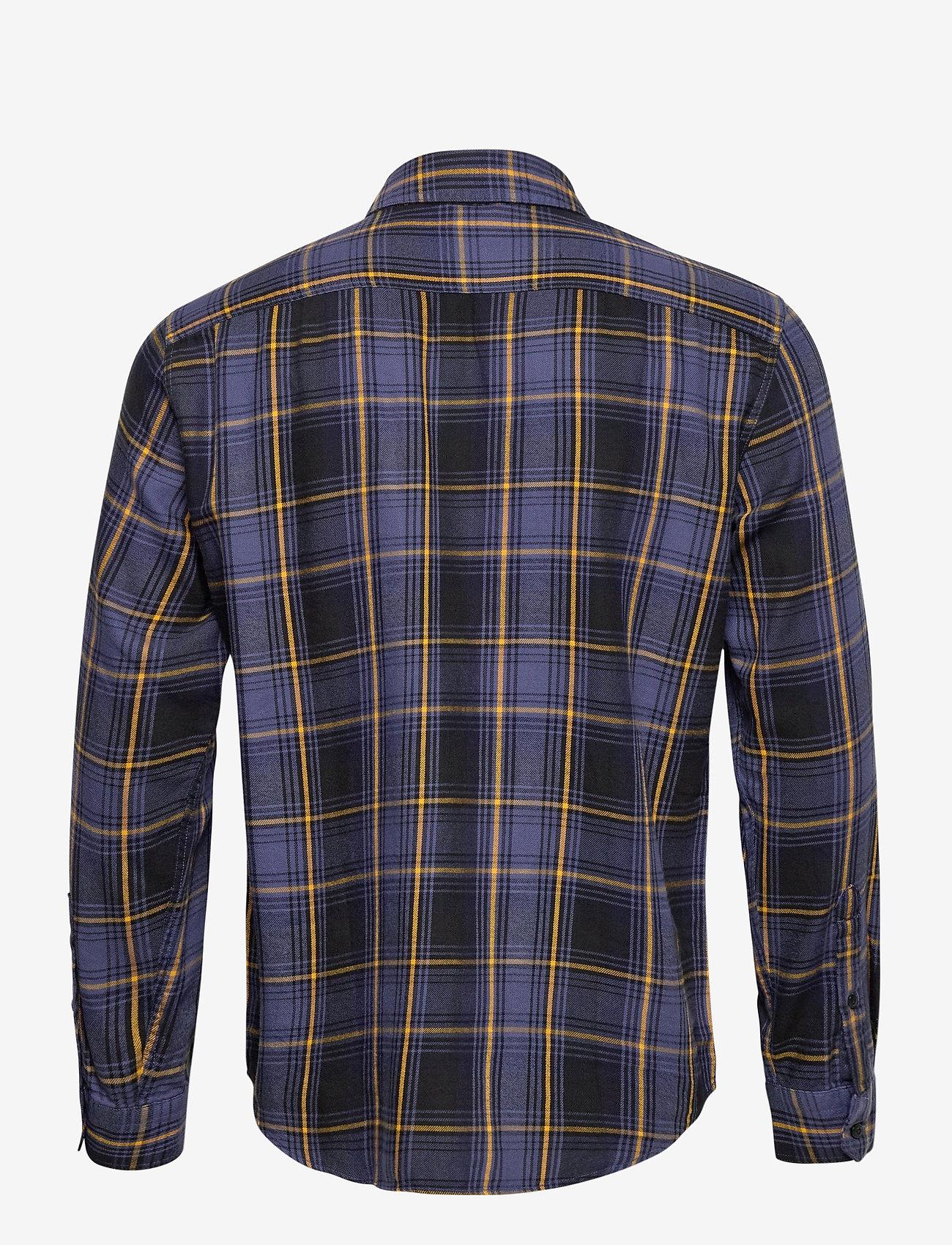 LEVI´S Men - SUNSET 1 POCKET STANDARD AZRIE - checkered shirts - yellows/oranges - 1