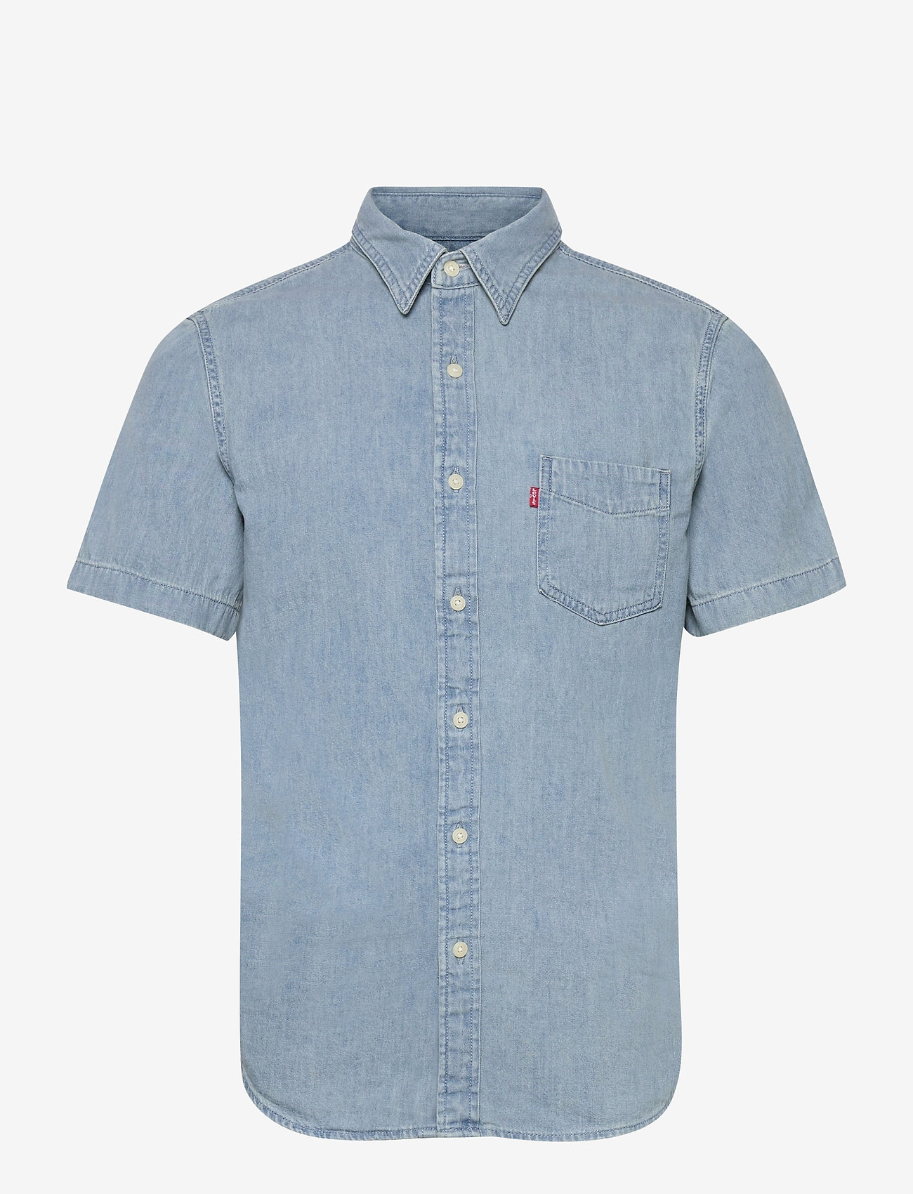 LEVI´S Men - SS CLASSIC 1 PKT STANDRD RED C - checkered shirts - blues - 0