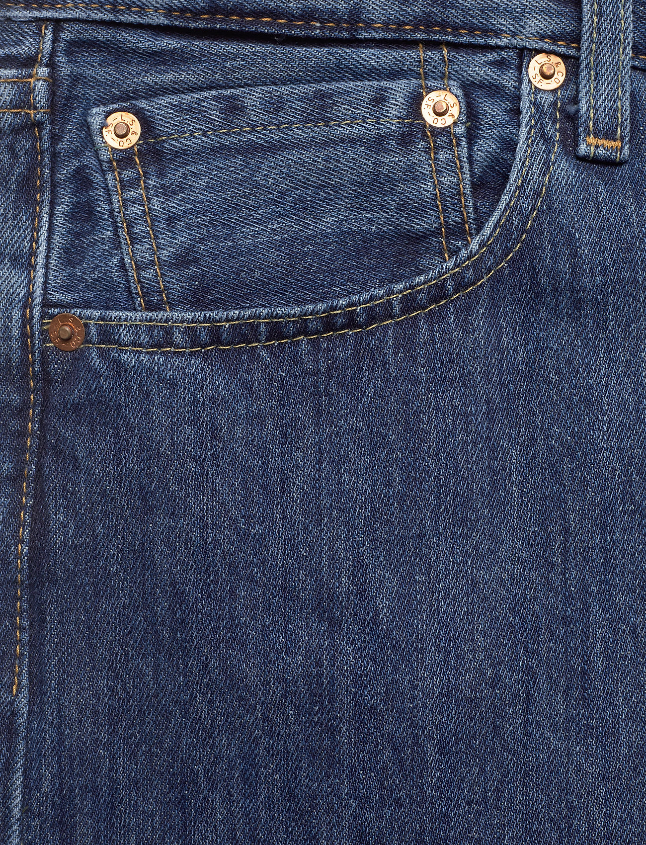 LEVI´S Men - 501 LEVISORIGINAL STONEWASH 80 - regular jeans - med indigo - flat finish - 2