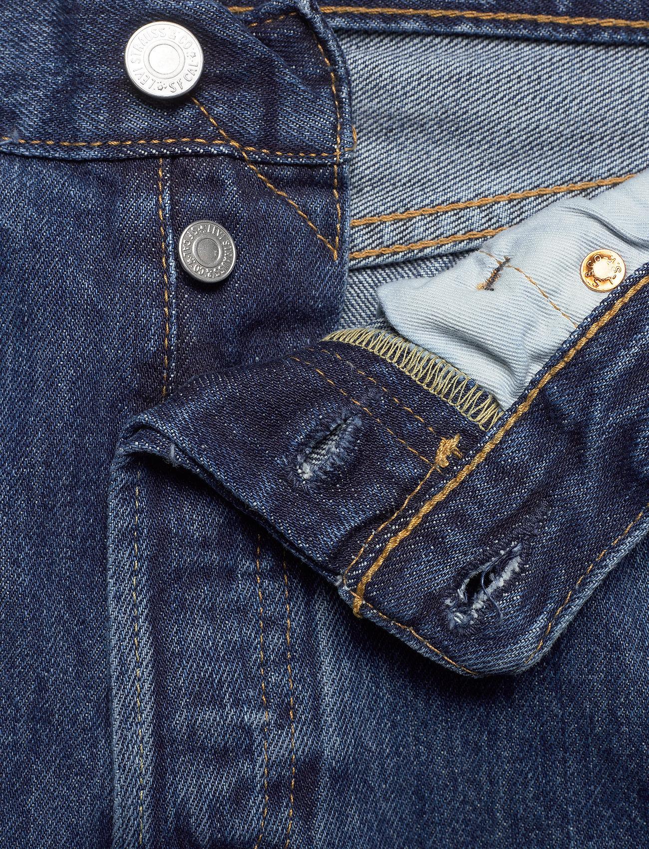 LEVI´S Men - 501 LEVISORIGINAL STONEWASH 80 - regular jeans - med indigo - flat finish - 3