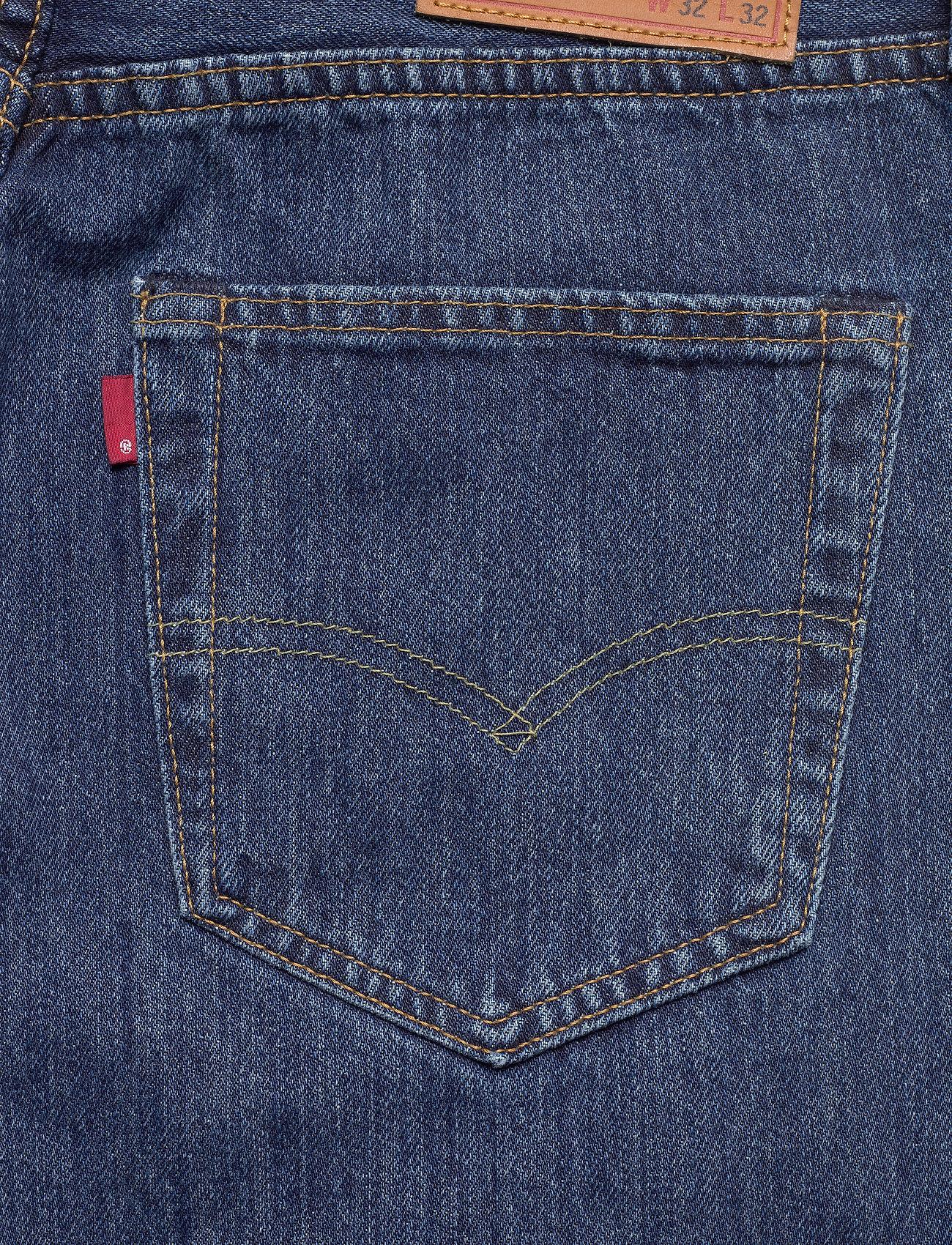 LEVI´S Men - 501 LEVISORIGINAL STONEWASH 80 - regular jeans - med indigo - flat finish - 4