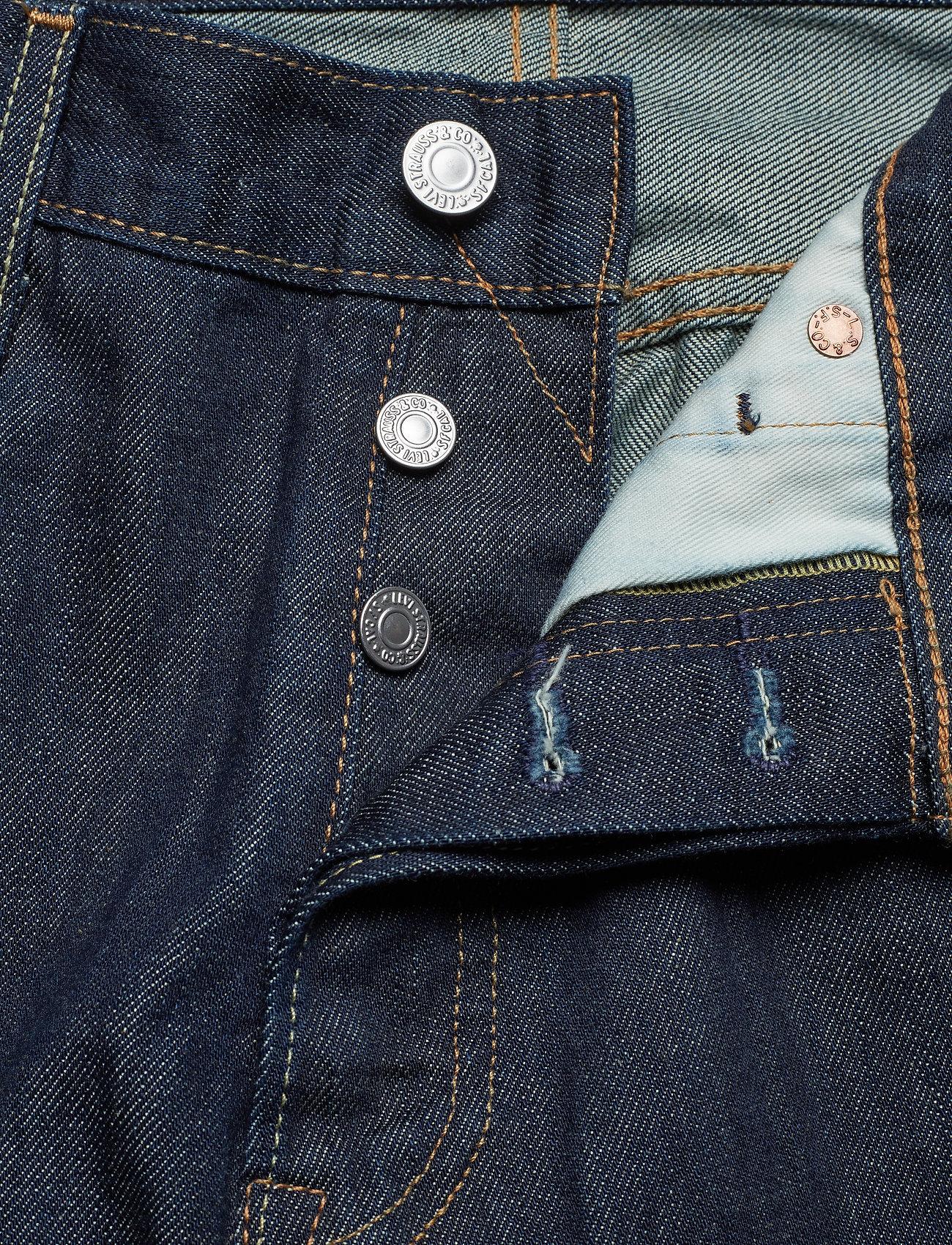 LEVI´S Men - 501 LEVISORIGINAL LEVIS MARLON - regular piegriezuma džinsa bikses - dark indigo - flat finish - 1