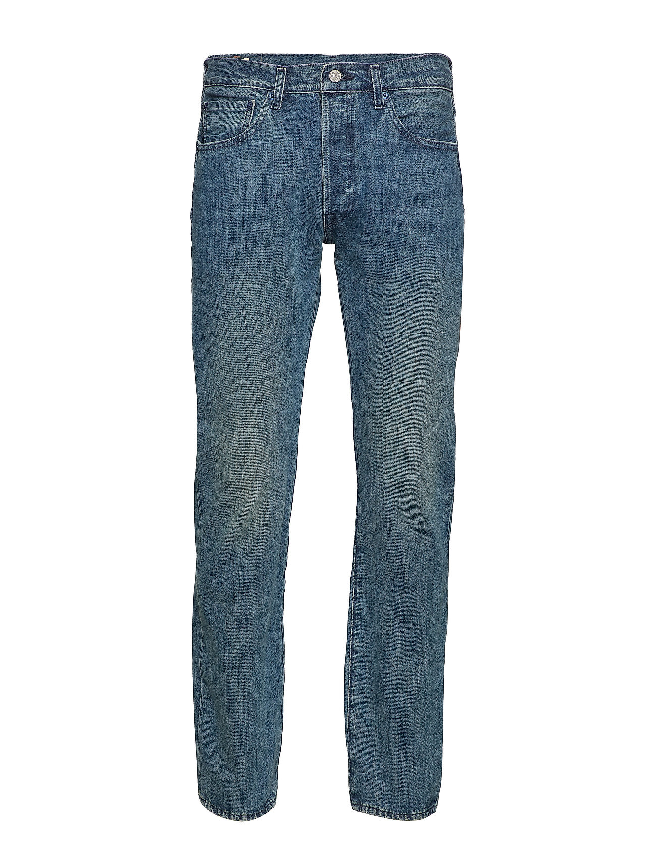 LEVI´S Men 501 LEVISORIGINAL T.B. - LIGHT INDIGO - WORN IN