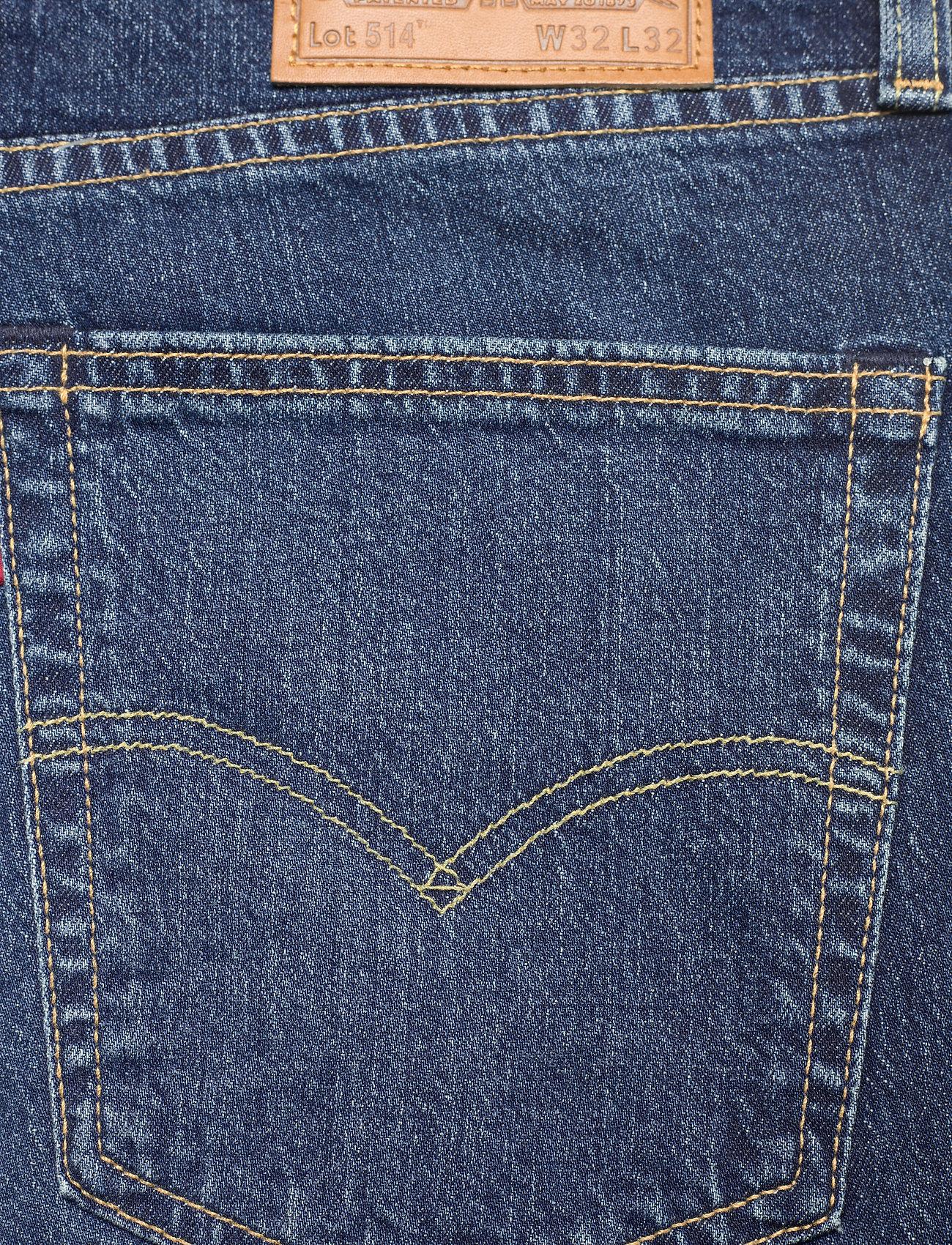 LEVI´S Men - 514 STRAIGHT LAURELHURST MYSEL - regular jeans - med indigo - flat finish - 4