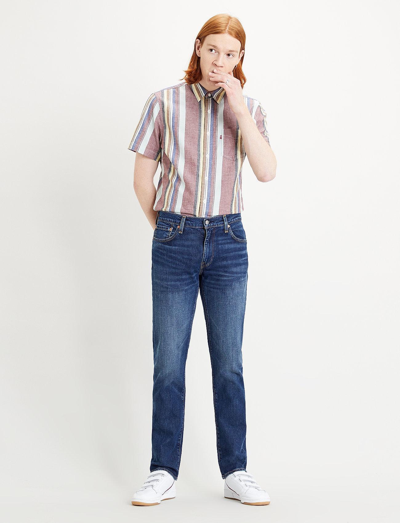 LEVI´S Men - 511 SLIM THE THRILL ADV - slim jeans - dark indigo - worn in - 0