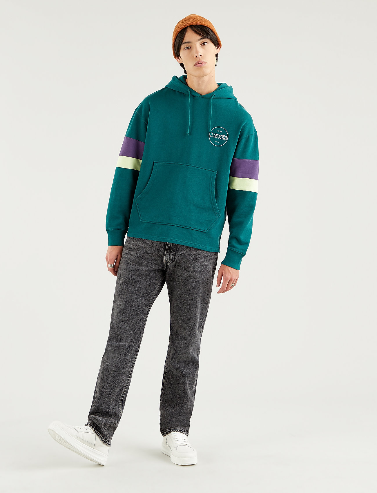LEVI´S Men - 551Z AUTHENTIC STRAIGHT SWIM S - regular jeans - blacks - 0