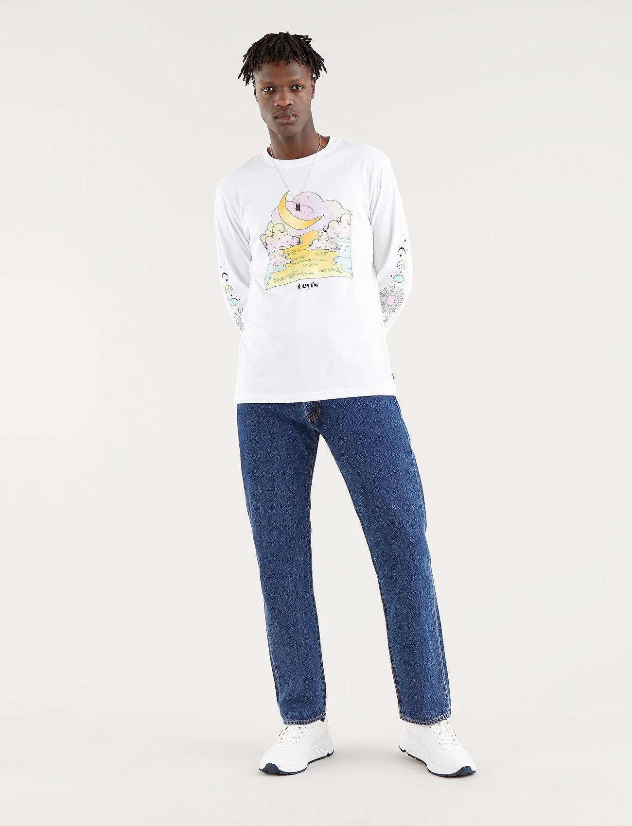 LEVI´S Men - 551Z AUTHENTIC STRAIGHT RUBBER - regular jeans - med indigo - worn in - 0