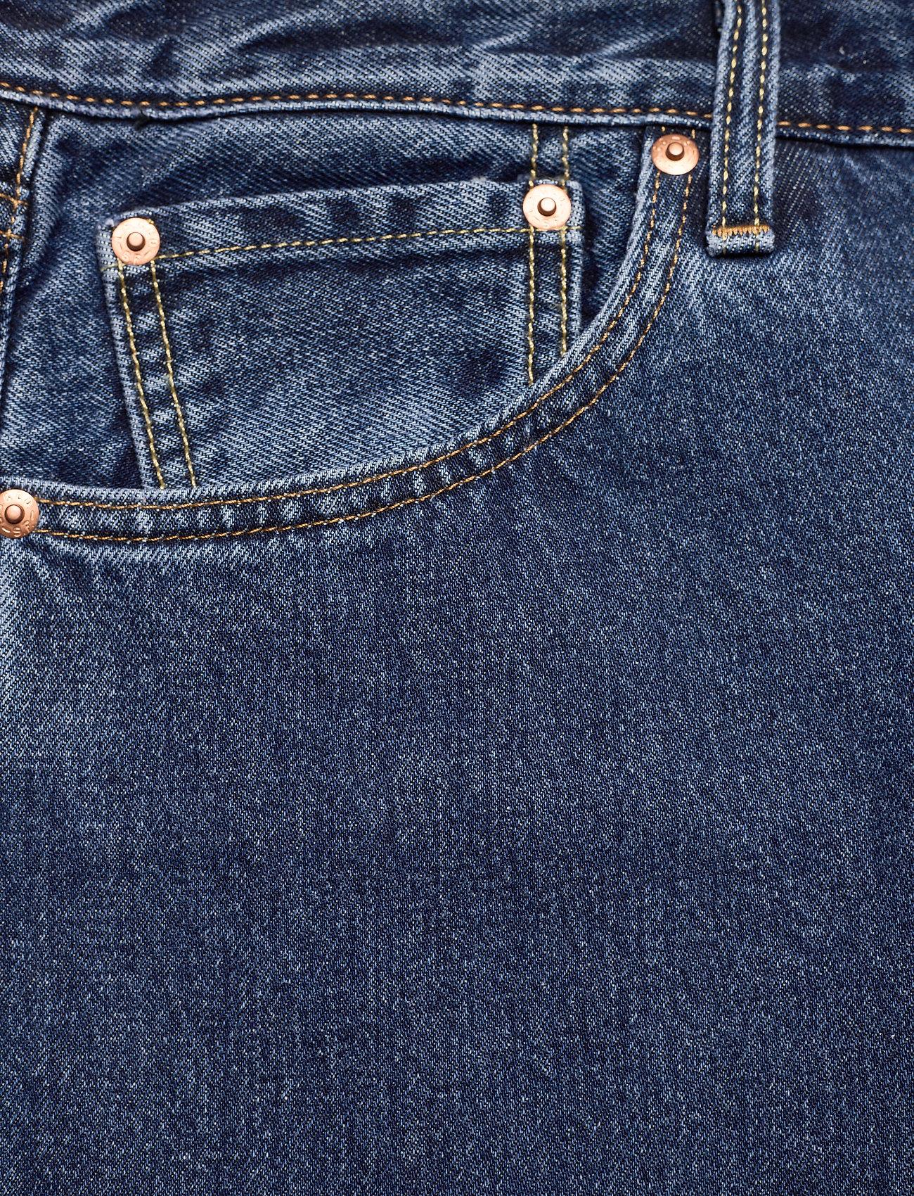 LEVI´S Men - 551Z AUTHENTIC STRAIGHT RUBBER - regular jeans - med indigo - worn in - 4