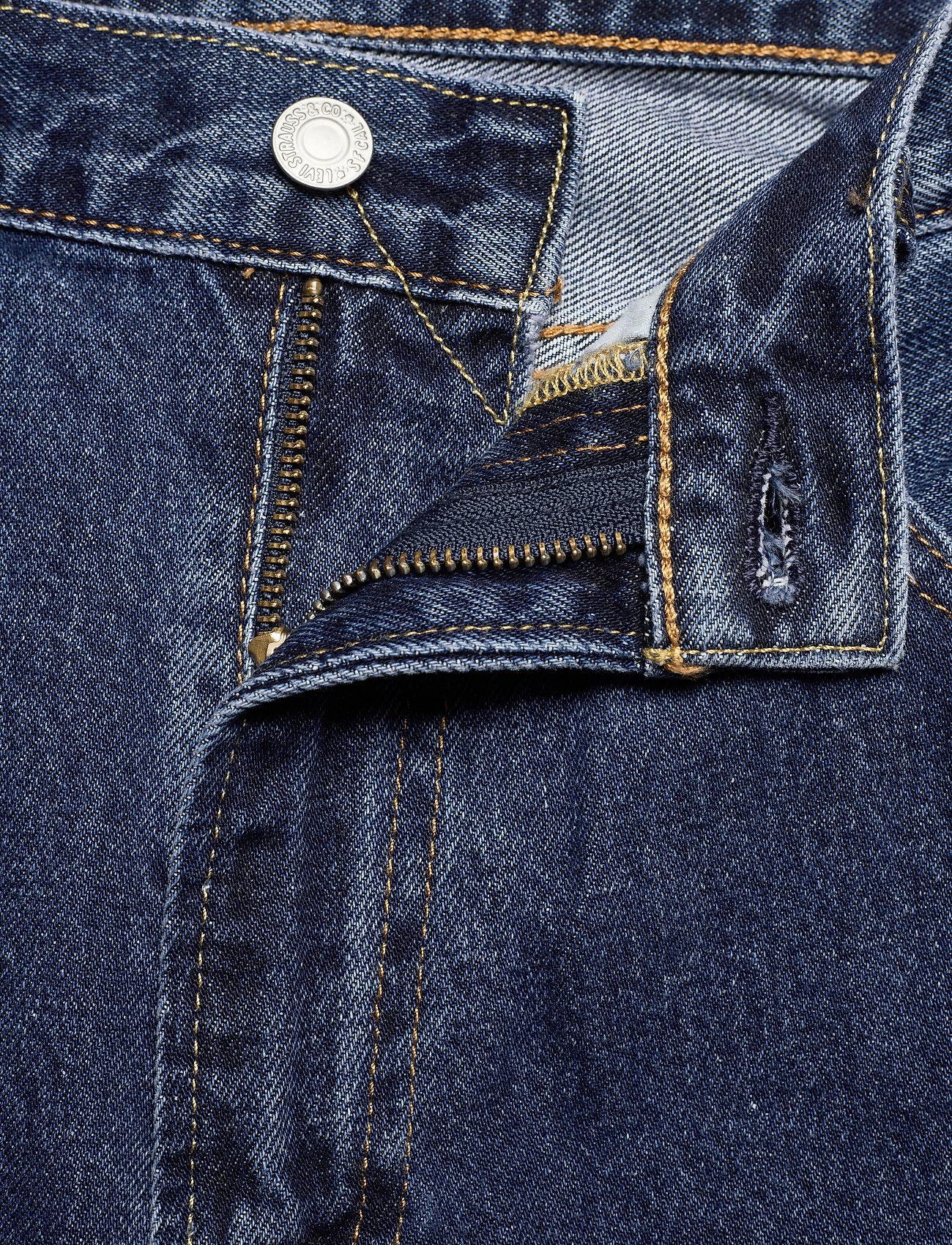 LEVI´S Men - 551Z AUTHENTIC STRAIGHT RUBBER - regular jeans - med indigo - worn in - 5