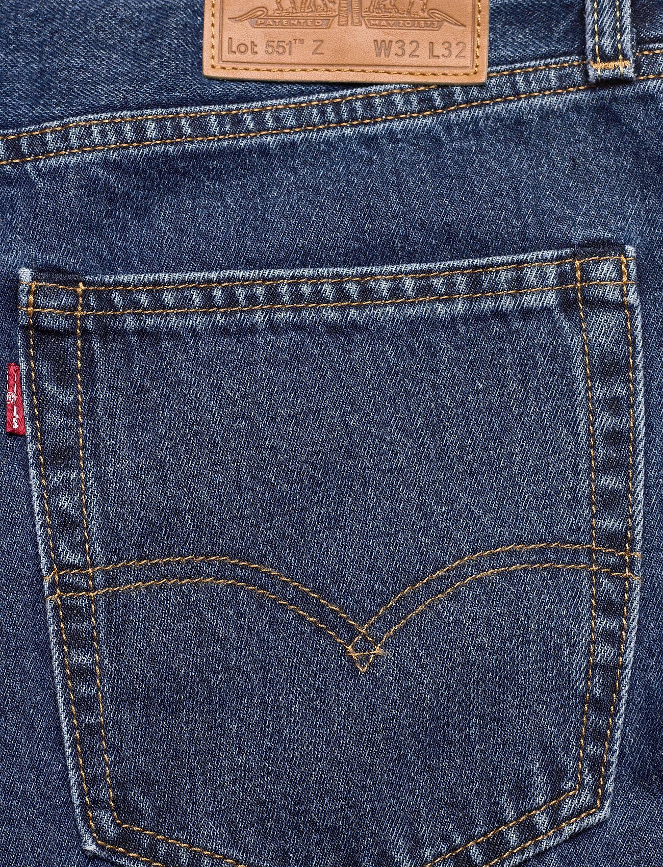 LEVI´S Men - 551Z AUTHENTIC STRAIGHT RUBBER - regular jeans - med indigo - worn in - 6