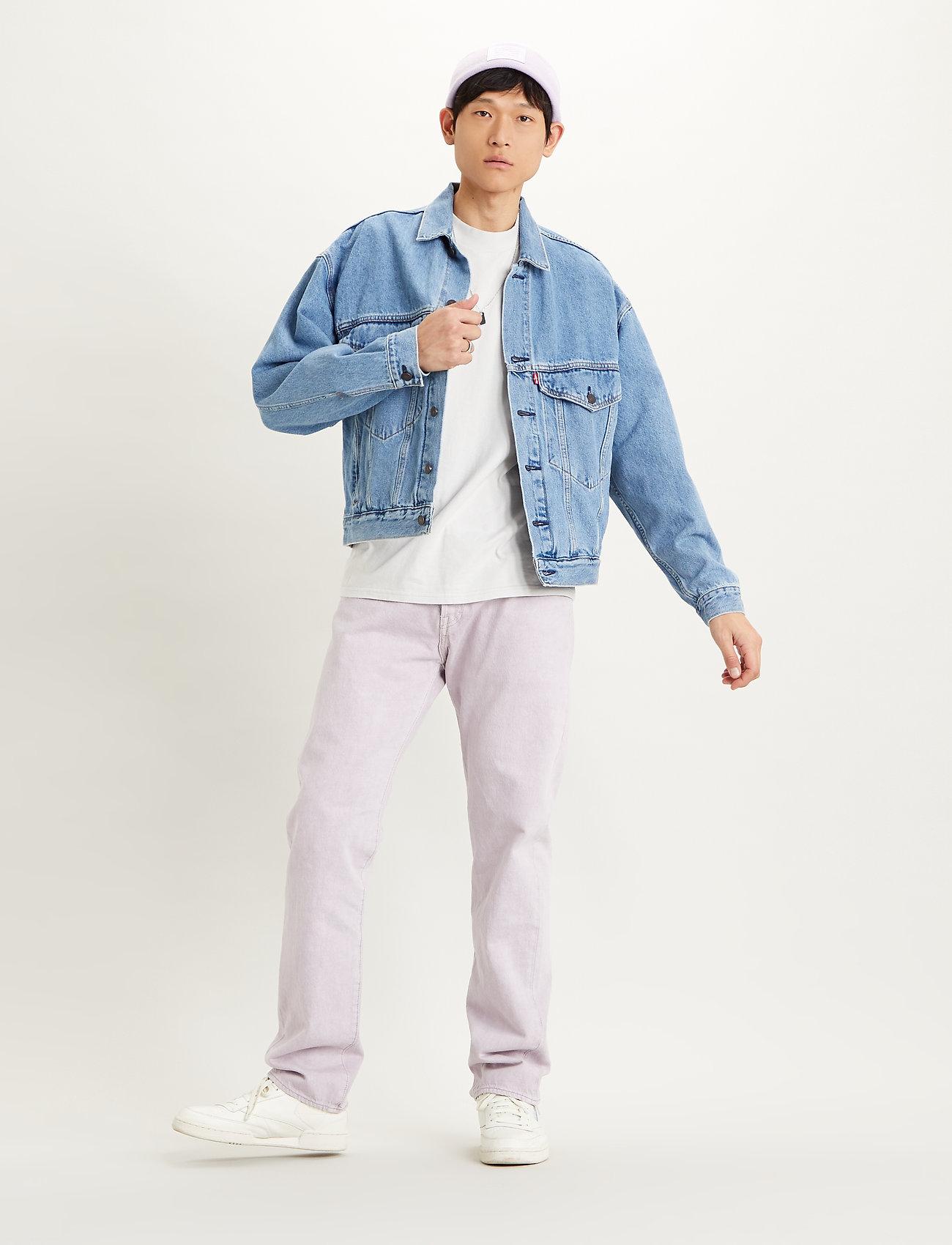 LEVI´S Men - STAY LOOSE TRUCKER HANG LOOSE - denim jackets - light indigo - worn in - 0