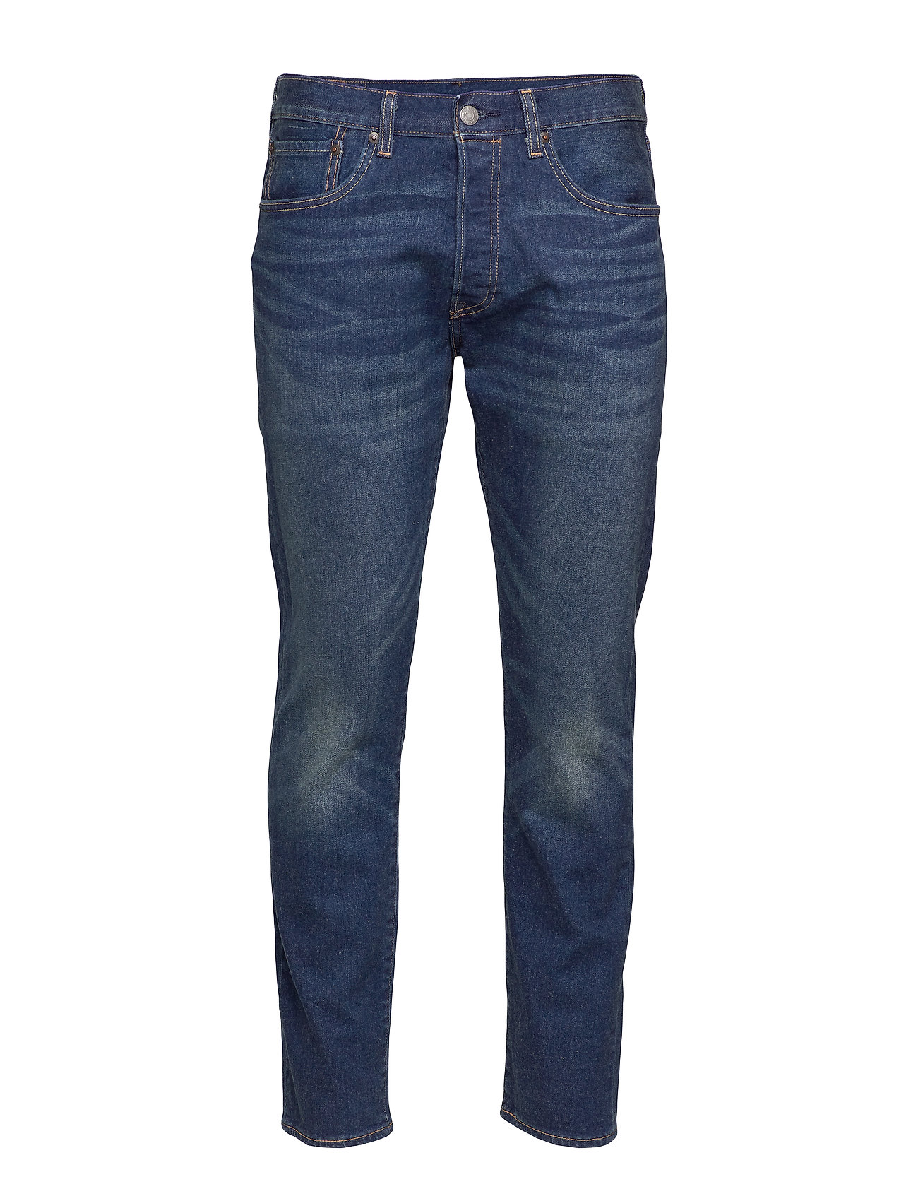 LEVI´S Men 501 SLIM TAPER BOARED - DARK INDIGO - FLAT FINISH