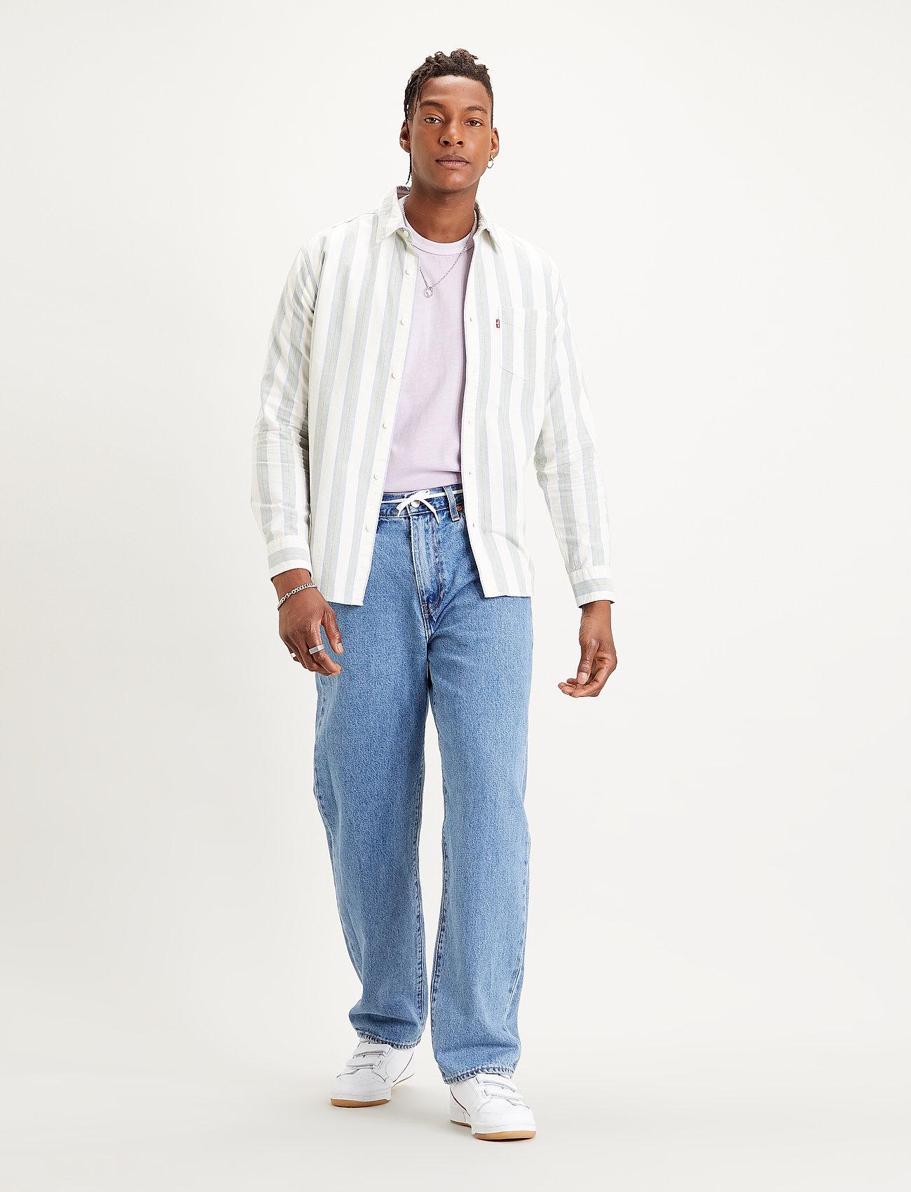 LEVI´S Men - STAY LOOSE DENIM HANG LOOSEN U - relaxed jeans - light indigo - worn in - 0