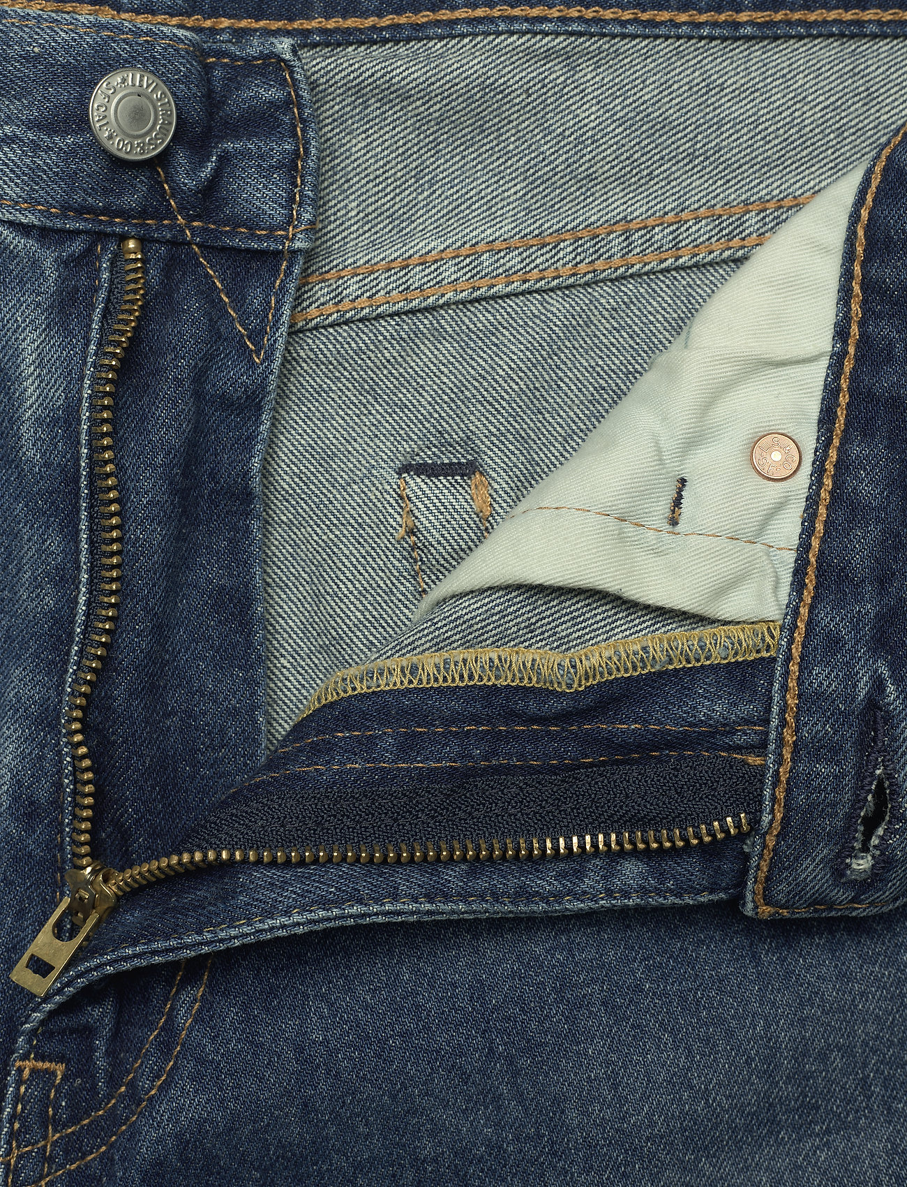 LEVI´S Men - STAY LOOSE DENIM EYED HOOK - relaxed jeans - med indigo - worn in - 3