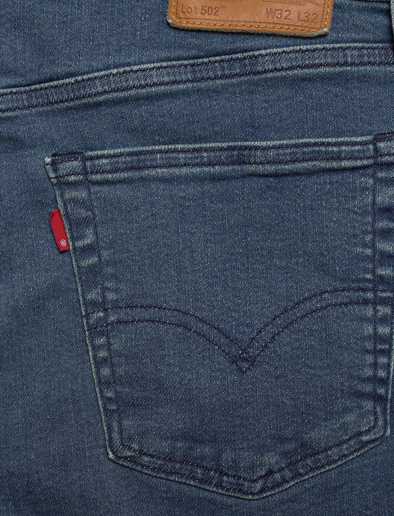 LEVI´S Men 502 TAPER SAGE OCEANSIDE ADV T - Jeans DARK INDIGO - FLAT FINISH - Menn Klær