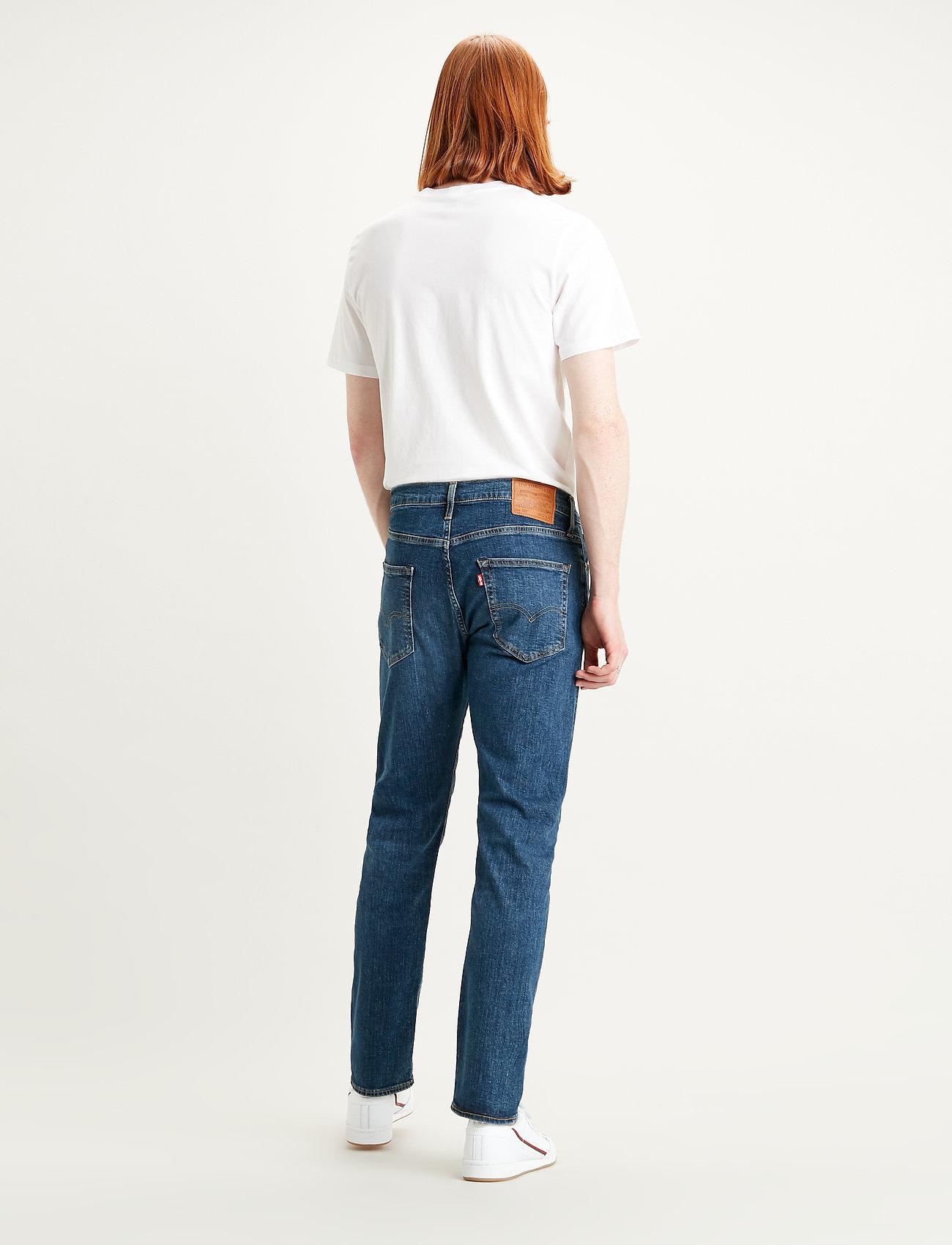 LEVI´S Men - 502 TAPER WAGYU MOSS - tapered jeans - dark indigo - worn in - 3