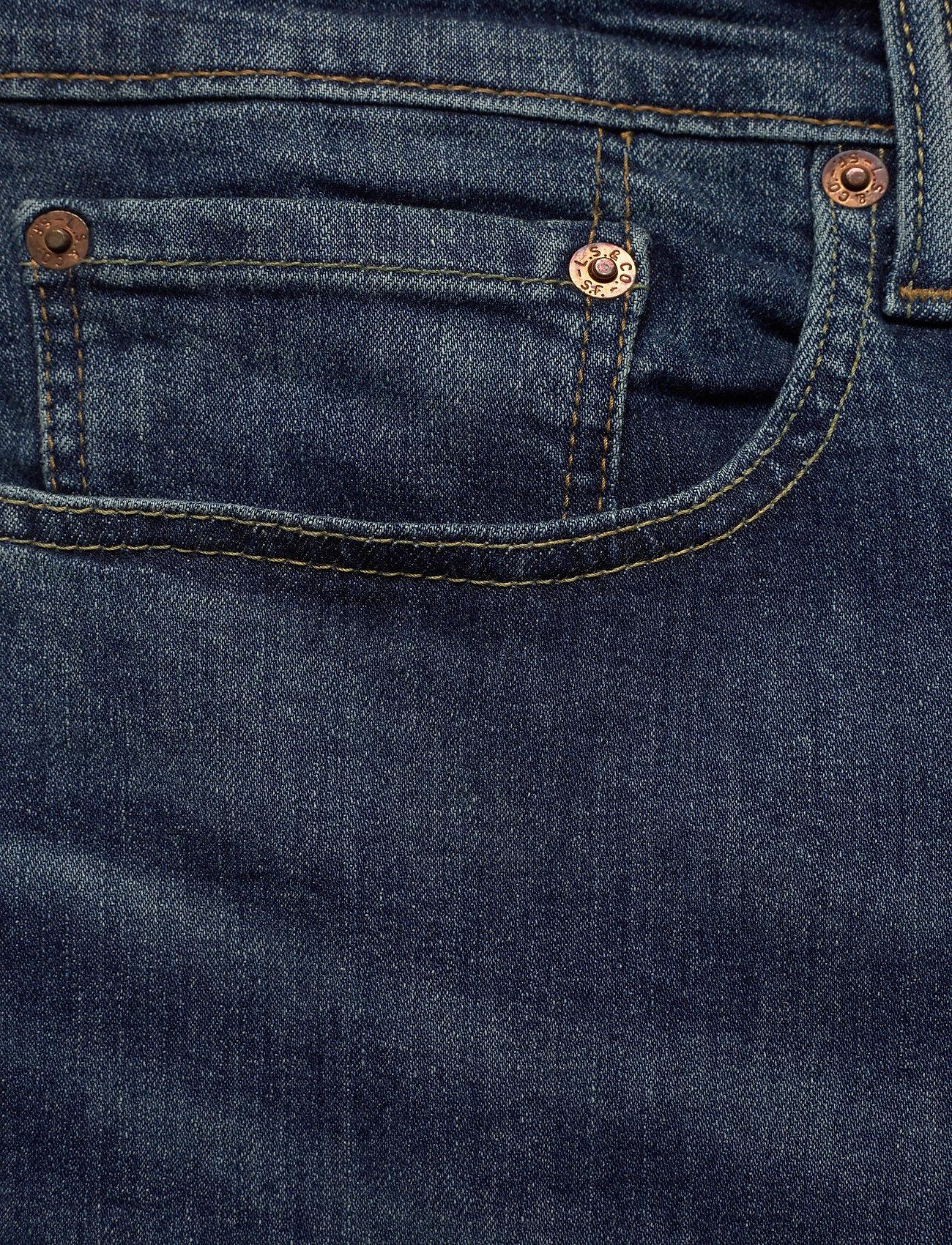 LEVI´S Men - 502 TAPER WAGYU MOSS - tapered jeans - dark indigo - worn in - 4