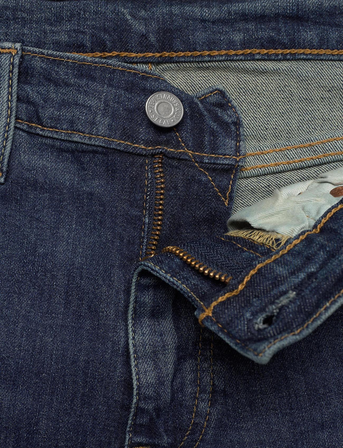 LEVI´S Men - 502 TAPER WAGYU MOSS - tapered jeans - dark indigo - worn in - 5
