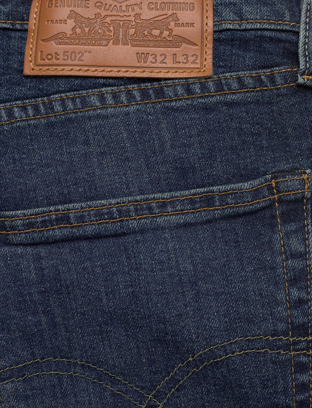 LEVI´S Men - 502 TAPER WAGYU MOSS - tapered jeans - dark indigo - worn in - 6