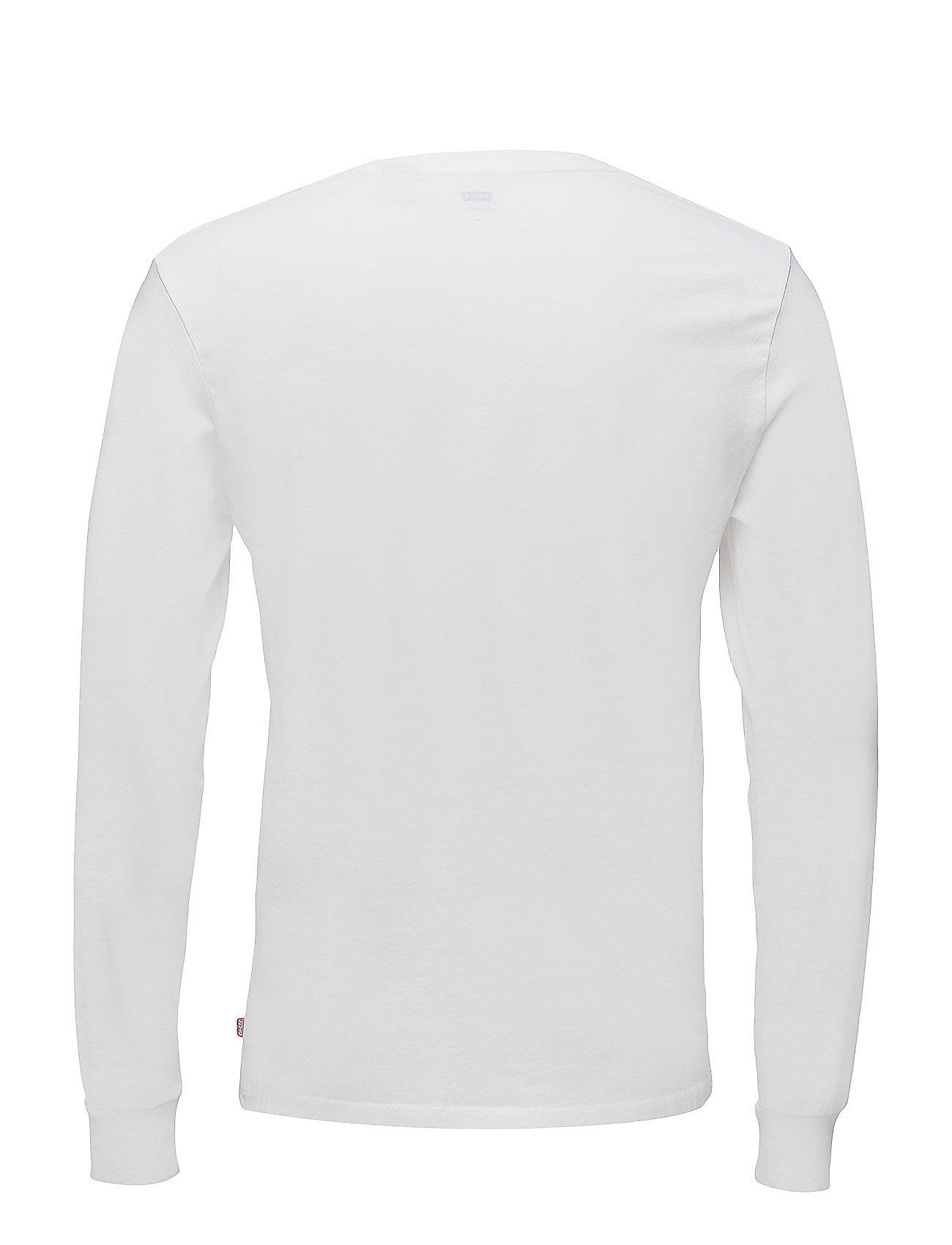 Ls Original Hm Tee Ls Cotton + T Langærmet Skjorte Blå LEVI´S Men