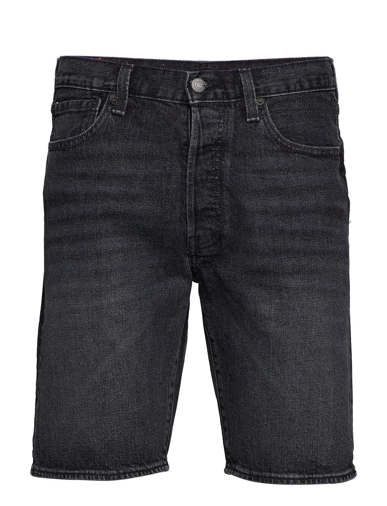 3a81b1dec2 501 Hemmed Short Plenty Short (Med Indigo - Worn In) (£44.80) - LEVI ...