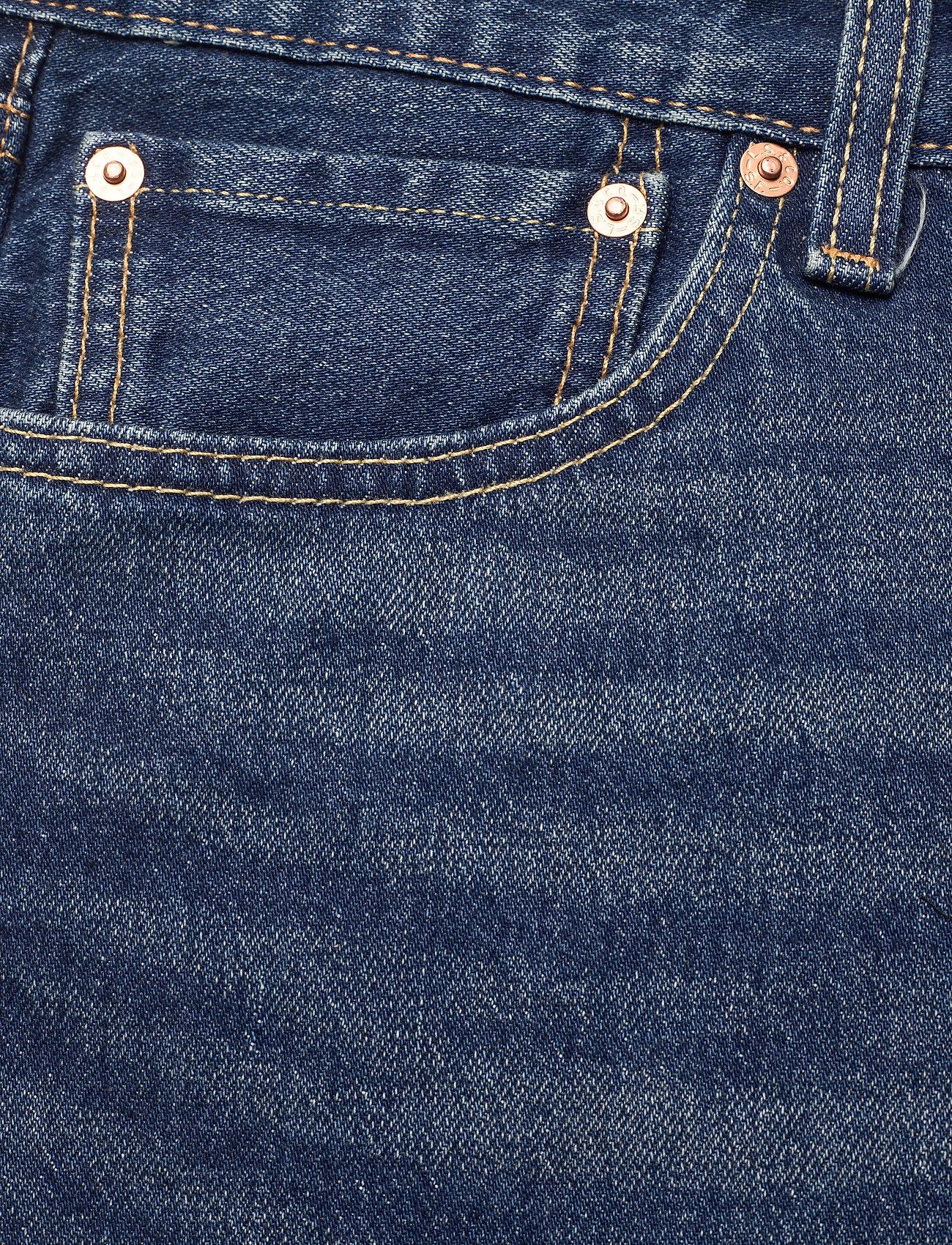LEVI´S Men - 501 HEMMED SHORT FIRE GOIN SHO - jeansowe szorty - med indigo - flat finish - 2