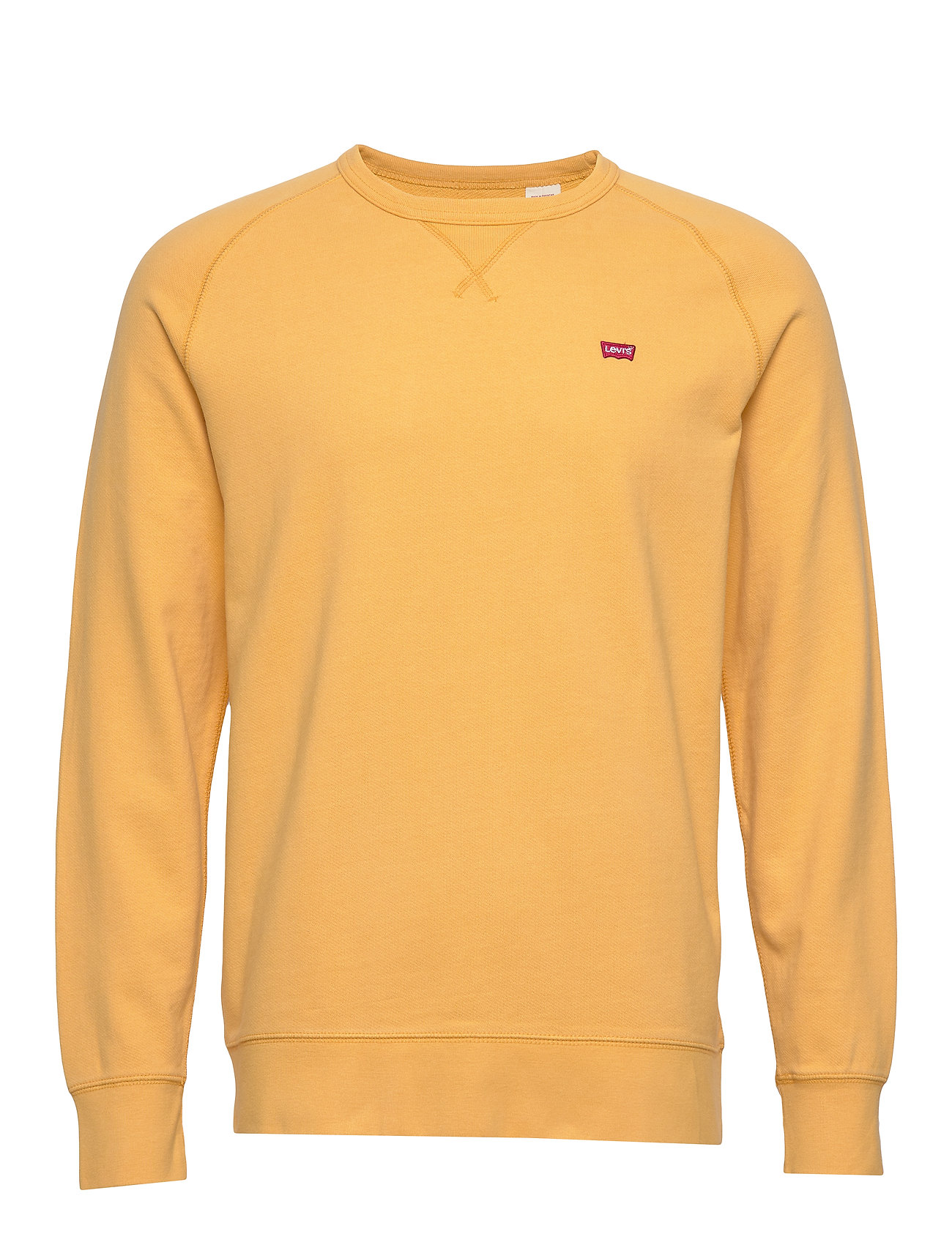 Image of Original Hm Icon Crew Golden A Sweatshirt Trøje Gul LEVI´S Men (3326810711)