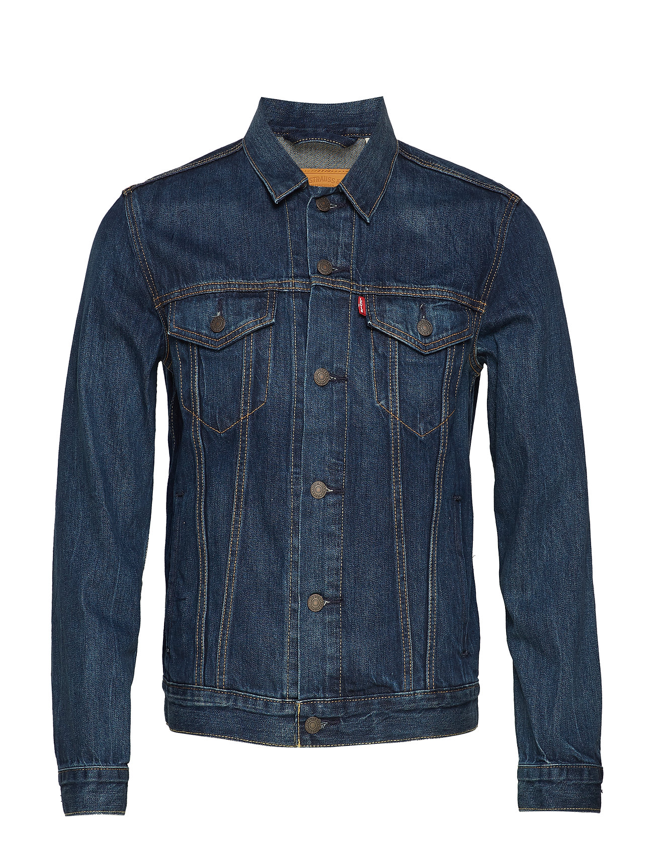 LEVI´S Men THE TRUCKER JACKET PALMER TRUC - MED INDIGO - WORN IN
