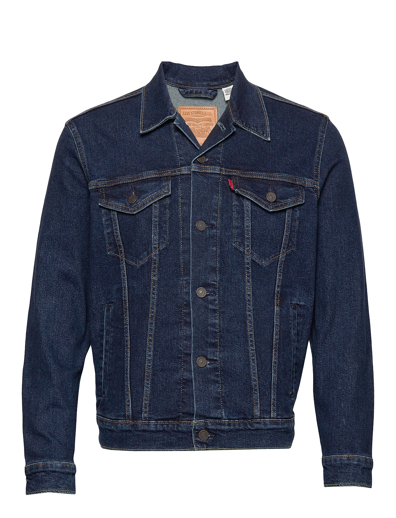 LEVI´S Men THE TRUCKER JACKET MOON LIT TR - DARK INDIGO - FLAT FINISH