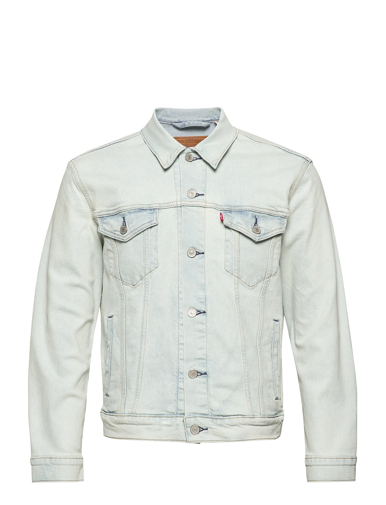 LEVI´S Men THE TRUCKER JACKET PALE SHADE - LIGHT INDIGO - FLAT FINIS