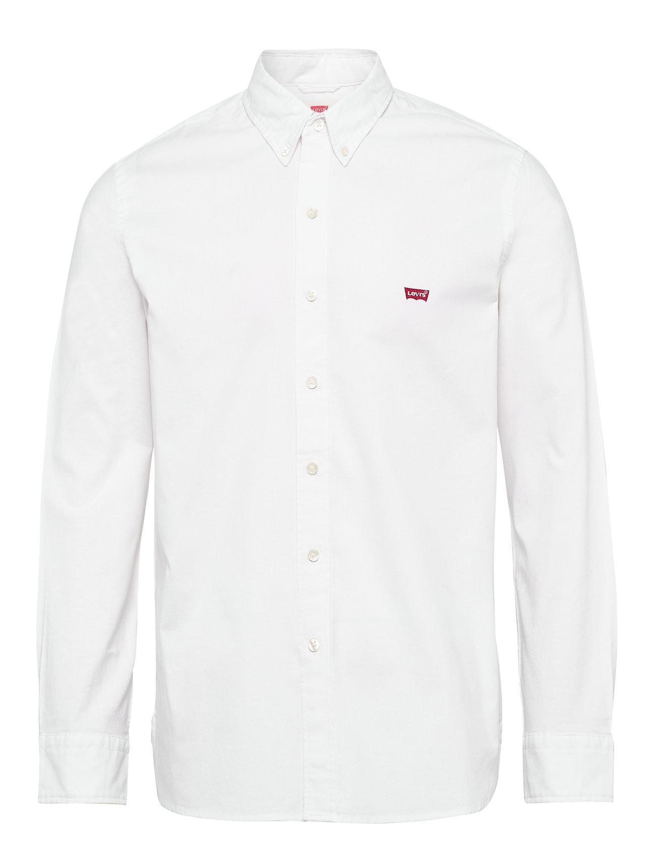Hm Men Ls WhiteneutralsLevi´s Battery Shirt dtChrxsQB