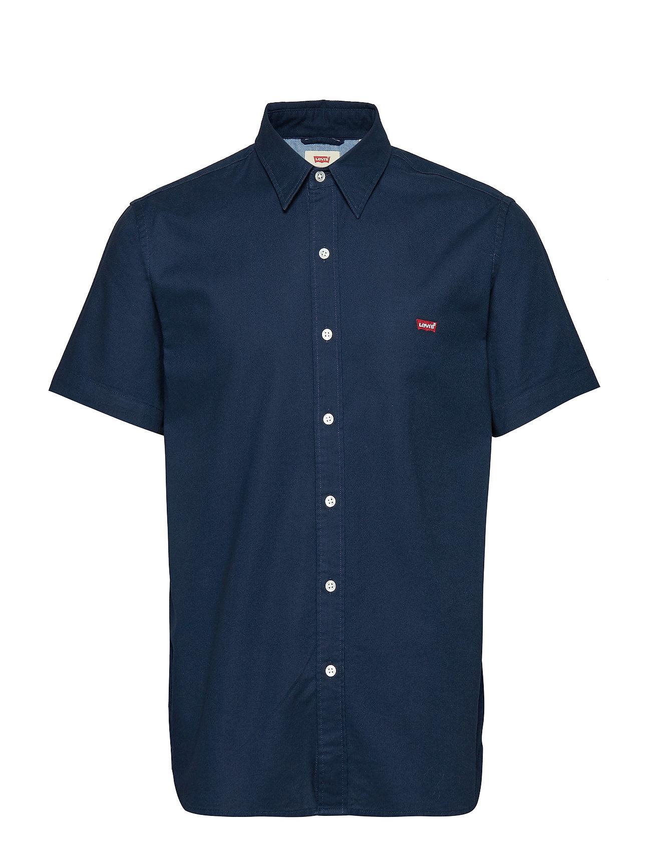 LEVI´S Men SS BATTERY HM SHIRT DRESS BLUE - BLUES